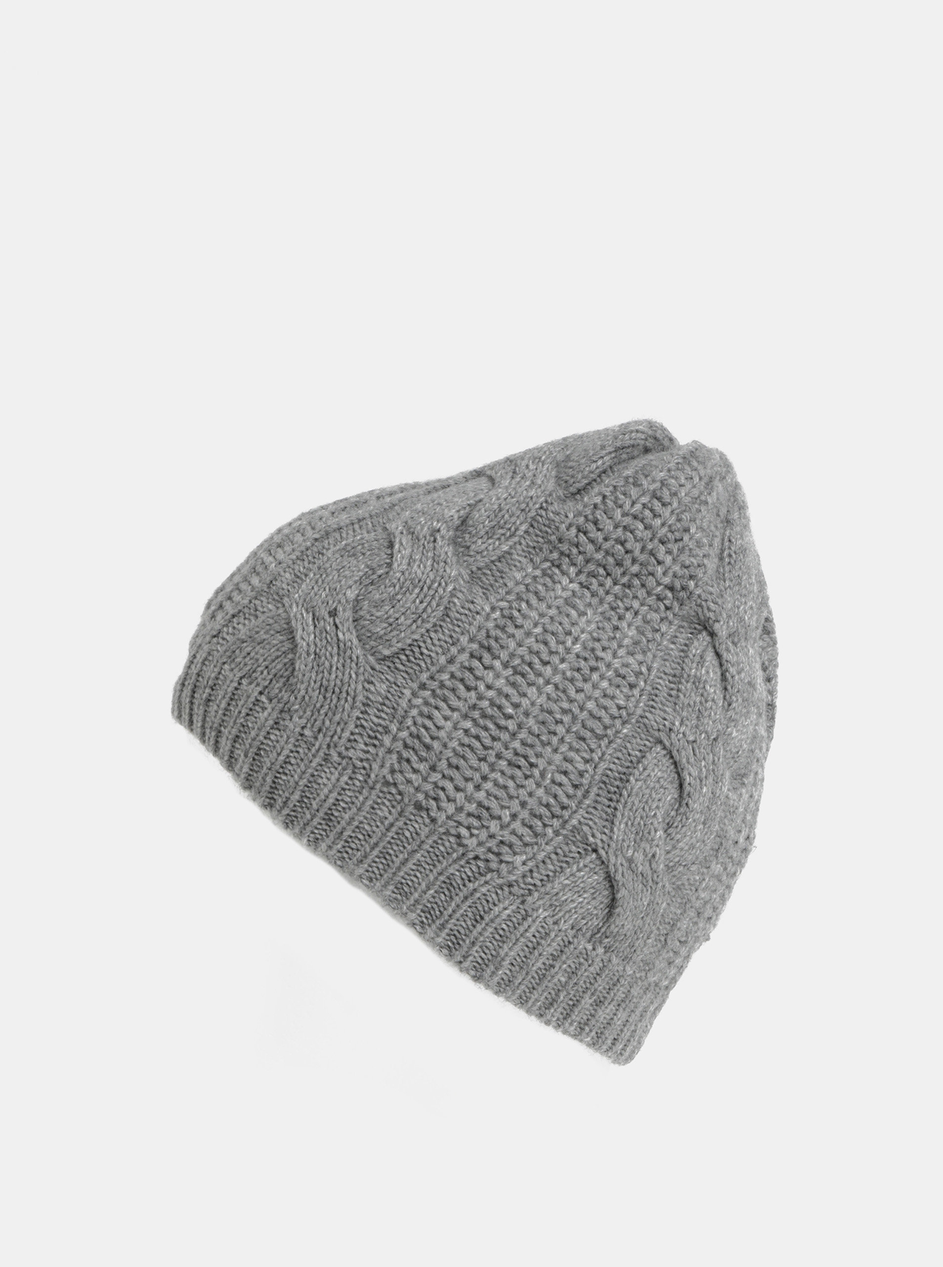 2d66fd705 Sivá dámska čiapka s prímesou vlny Tommy Hilfiger | ZOOT.sk