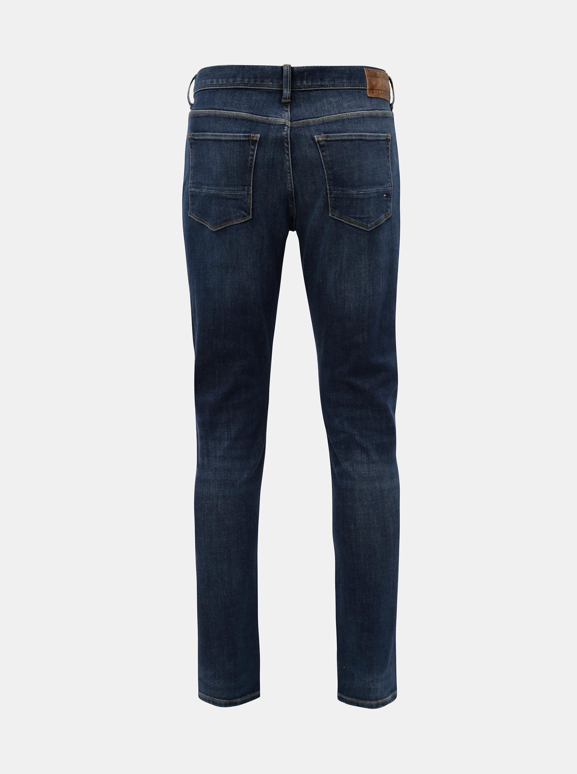 Modré pánské slim fit džíny Tommy Hilfiger Layton ... c60f24bd6a