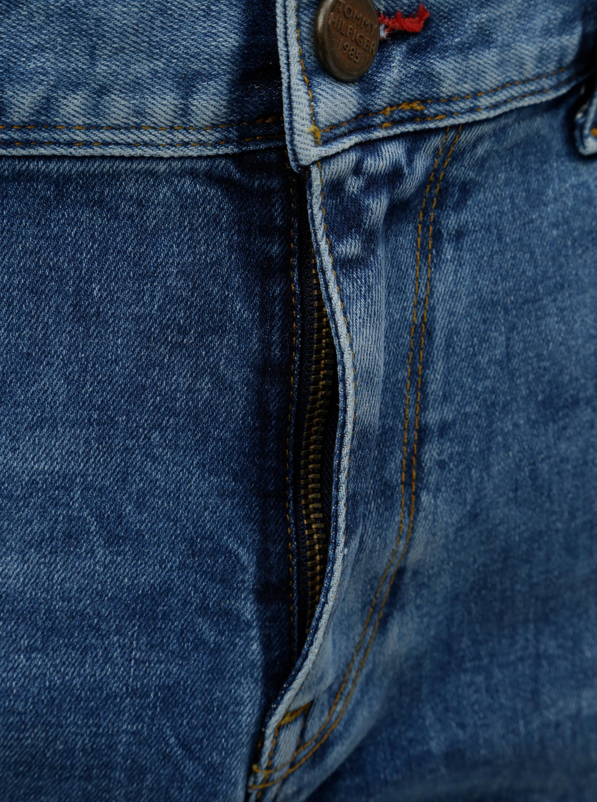 Světle modré pánské slim fit džíny Tommy Hilfiger Bleecker ... 55094799fc