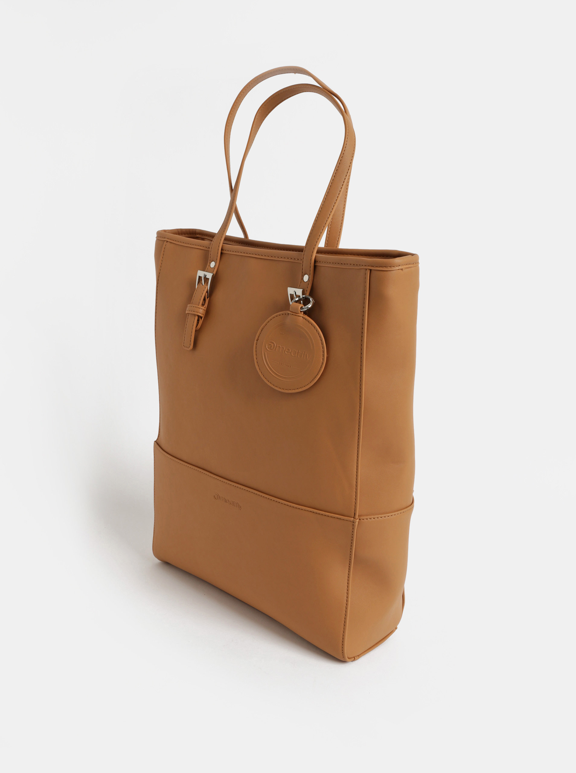 Hnedá veľká kabelka Meatfly ... 1268b00acce