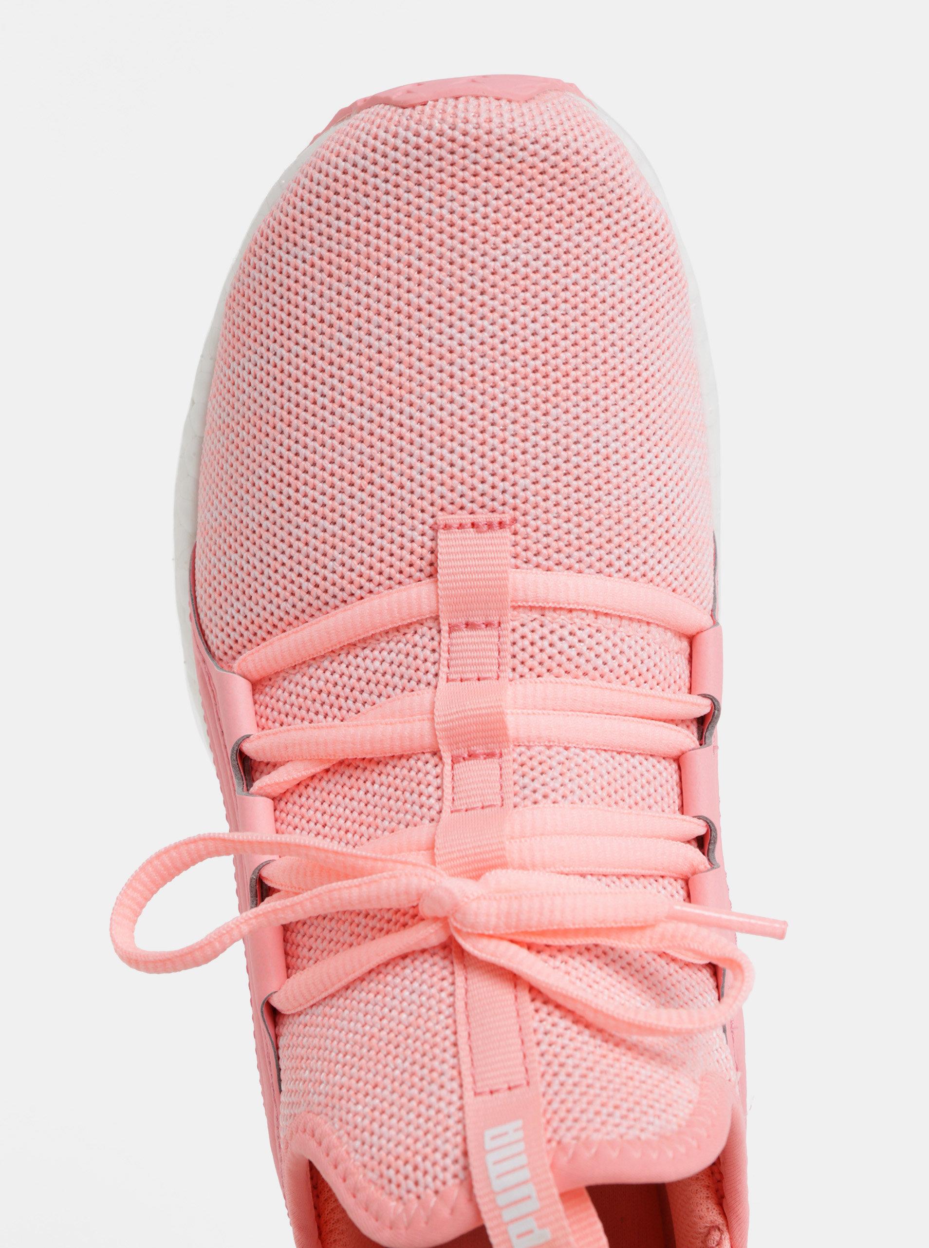 3b038e442 Růžové dámské neonové tenisky Puma Mega NRGY   ZOOT.cz