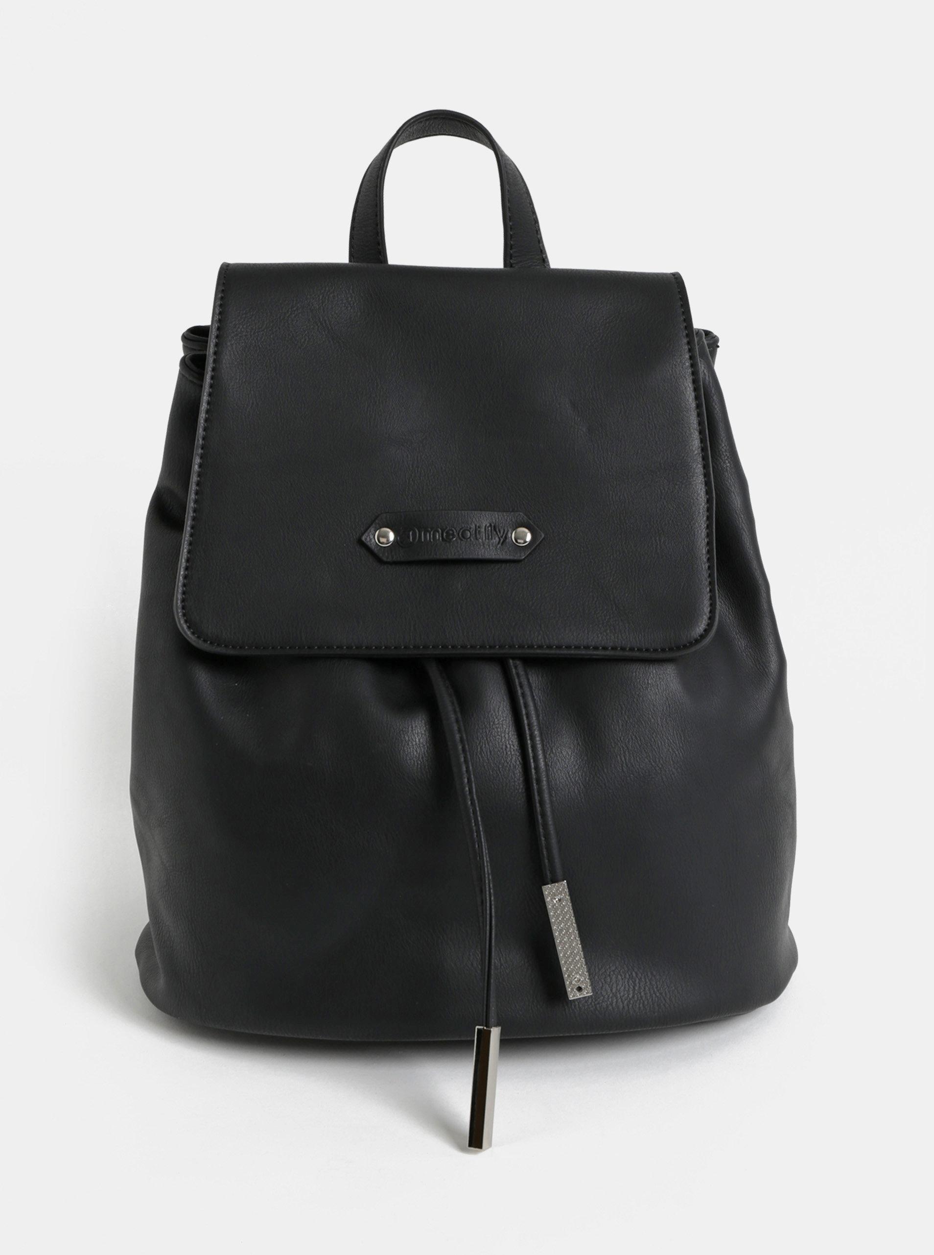 Černý dámský vakový batoh Meatfly ... 157abbdb17