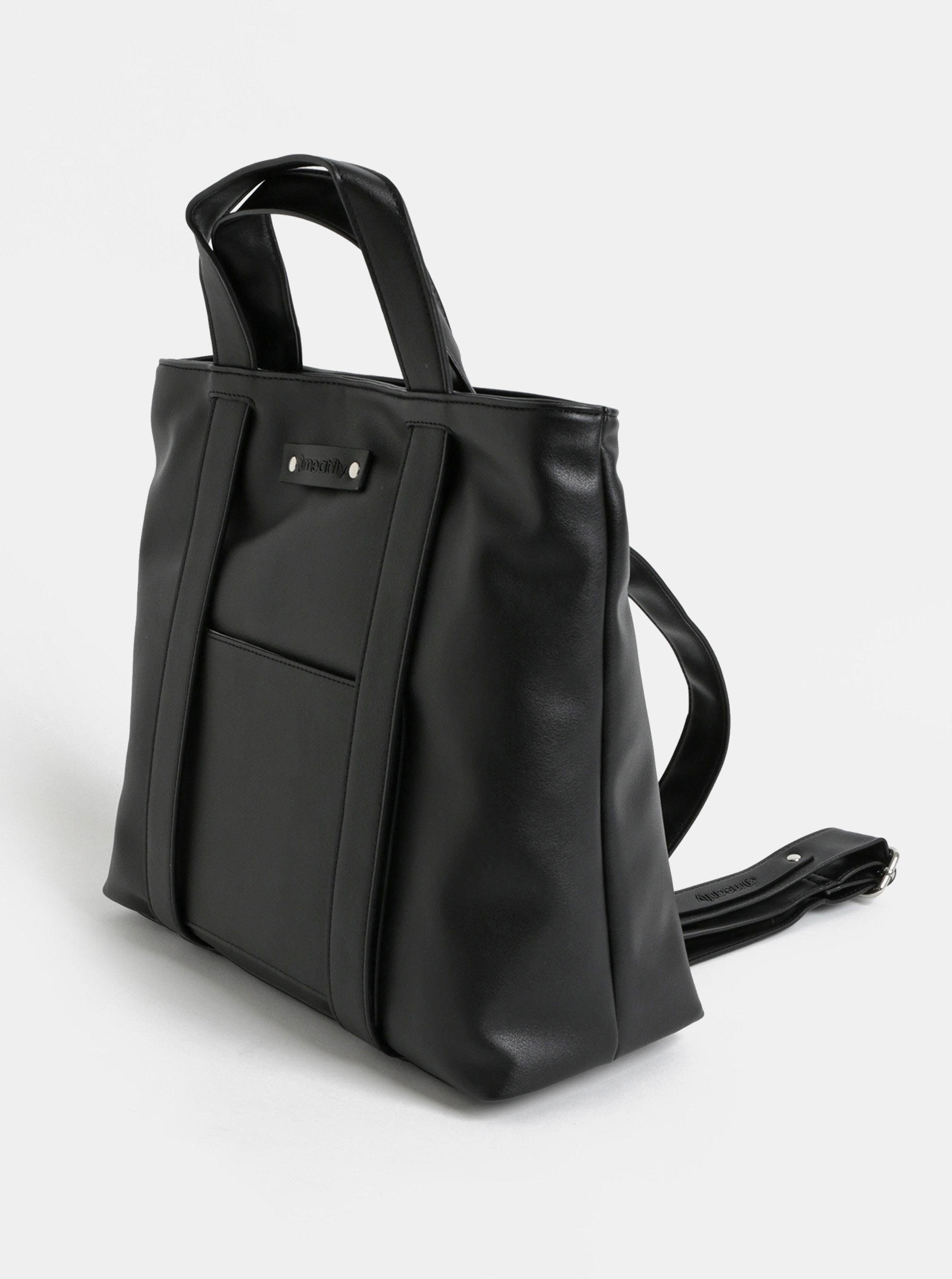 57497588e3 Černá dámská kabelka batoh Meatfly ...