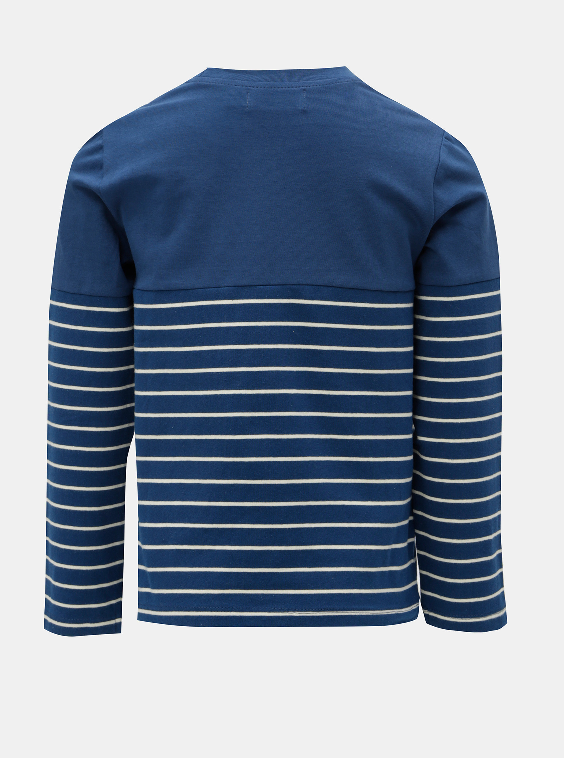 Tmavě modré holčičí pruhované tričko s potiskem ryb BÓBOLI ... 8e72584c9c