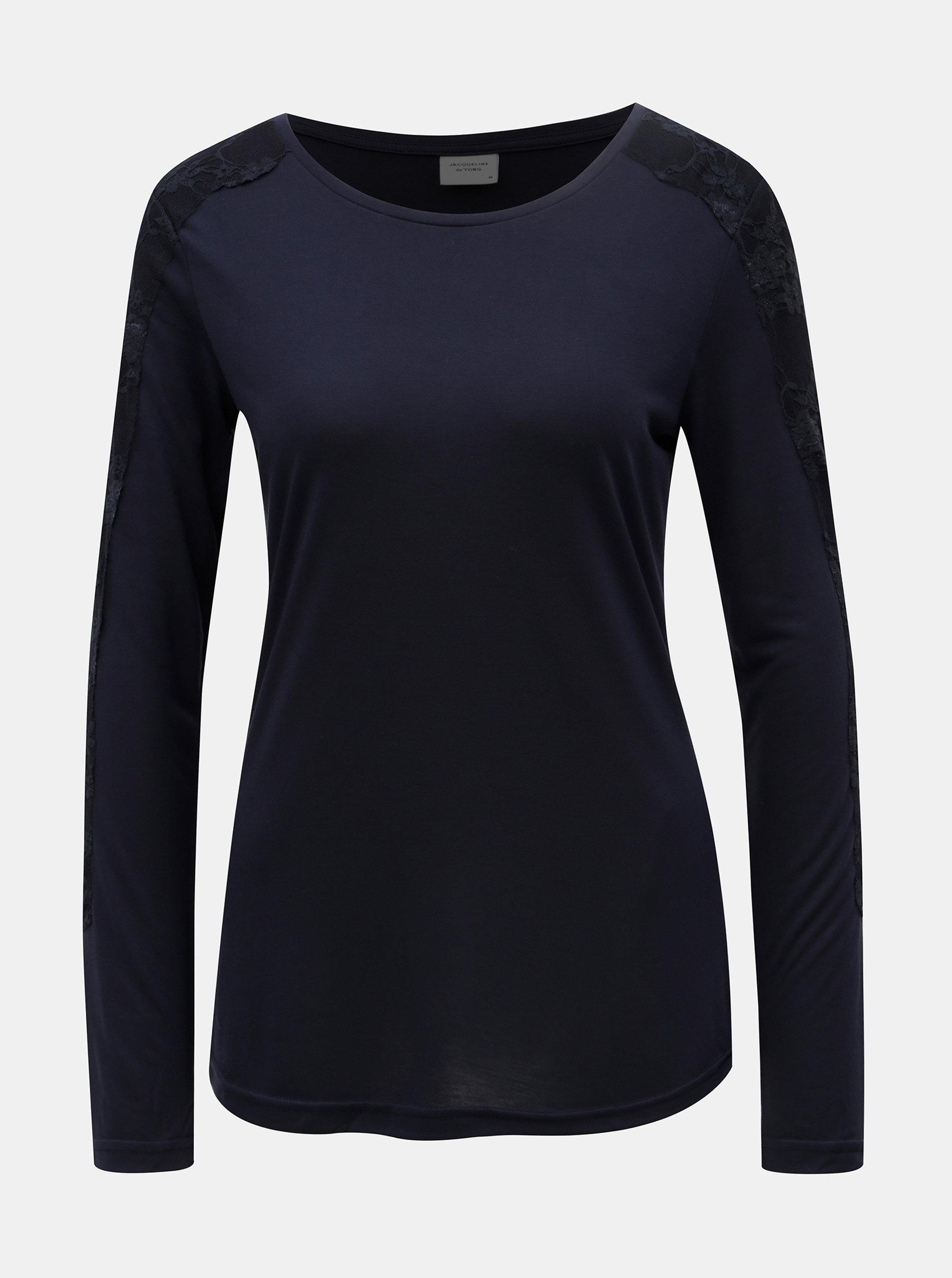 0f0632d93bec Tmavomodré tričko Jacqueline de Yong Olivia ...