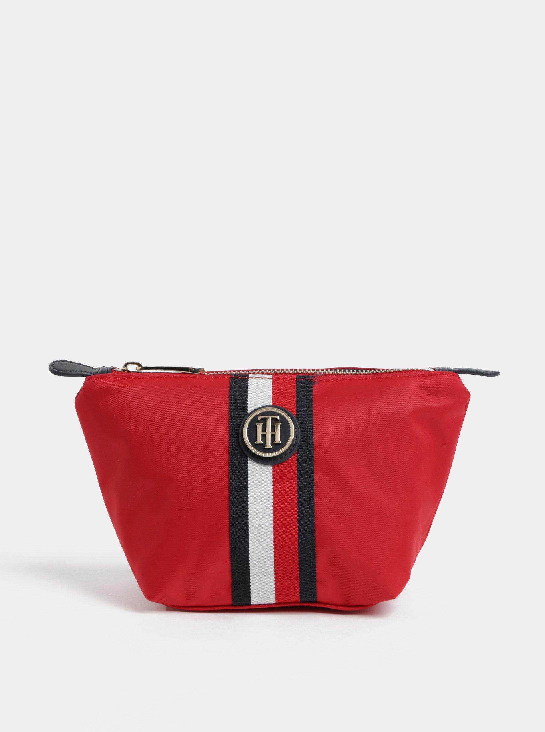 Červená dámská kosmetická taštička Tommy Hilfiger Poppy ... b6dca610e2