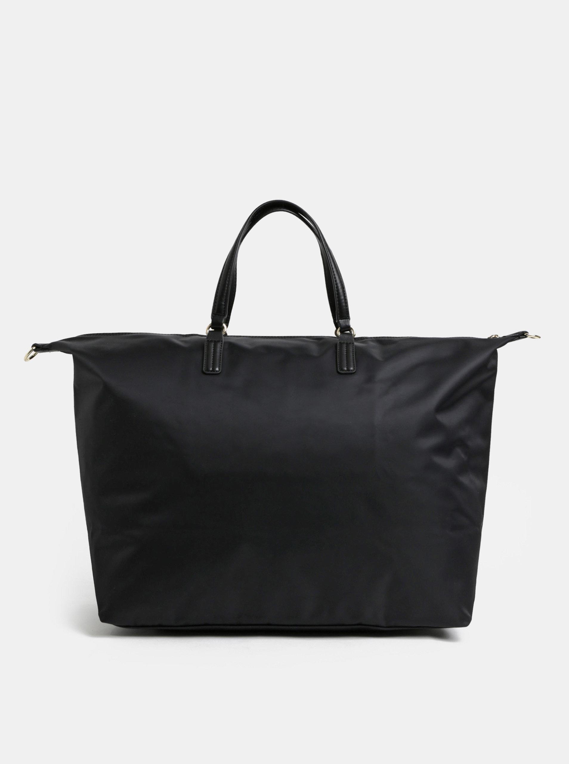 4feeb63696e3 Čierna dámska taška Tommy Hilfiger ...