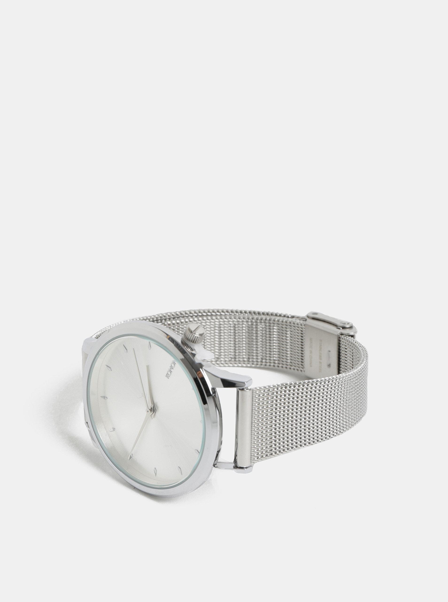 Dámské hodinky ve stříbrné barvě Komono Lexi Royale ... 06b2eda4a0