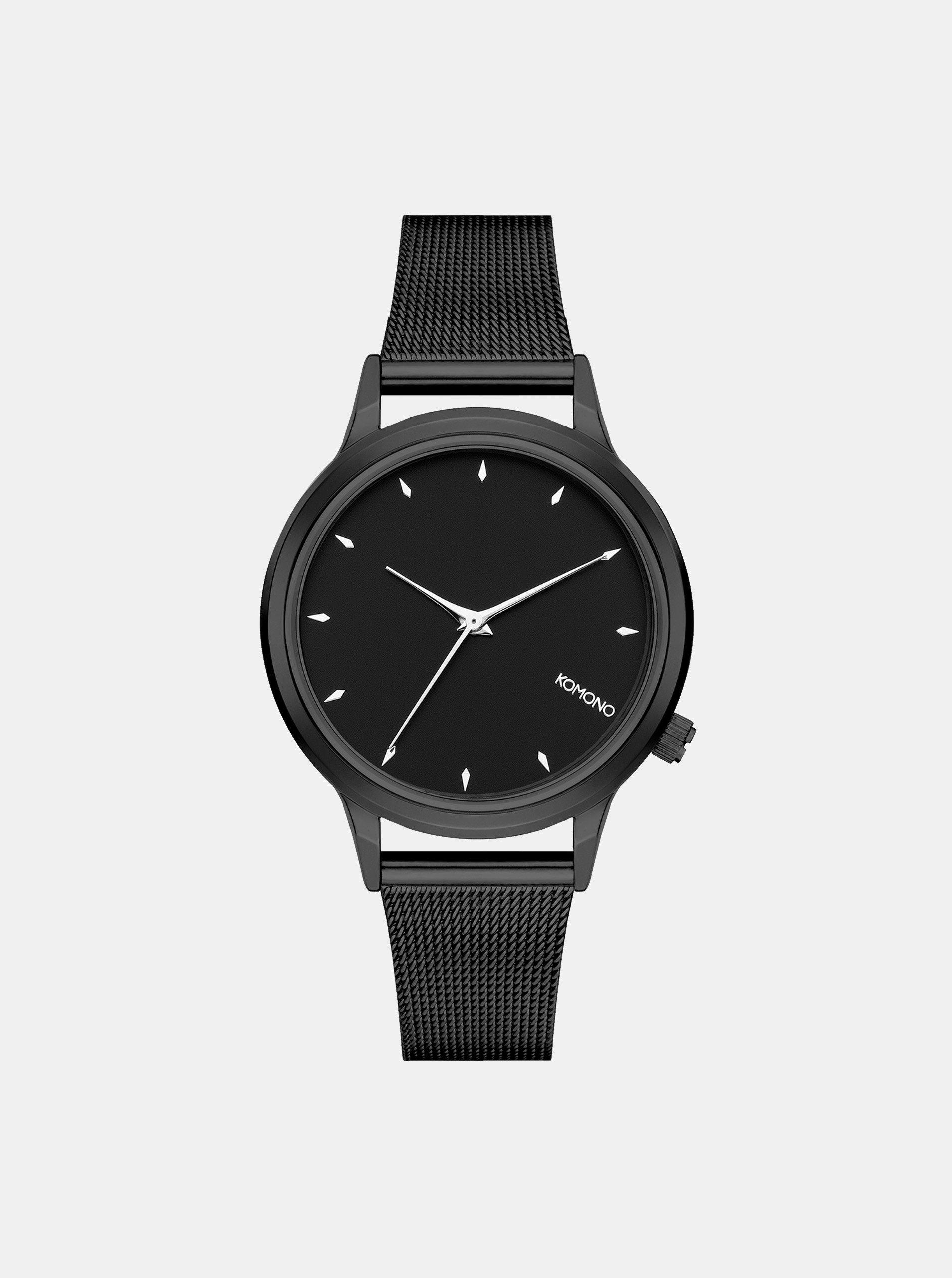 Dámské hodinky v černé barvě Komono Lexi Eoyale