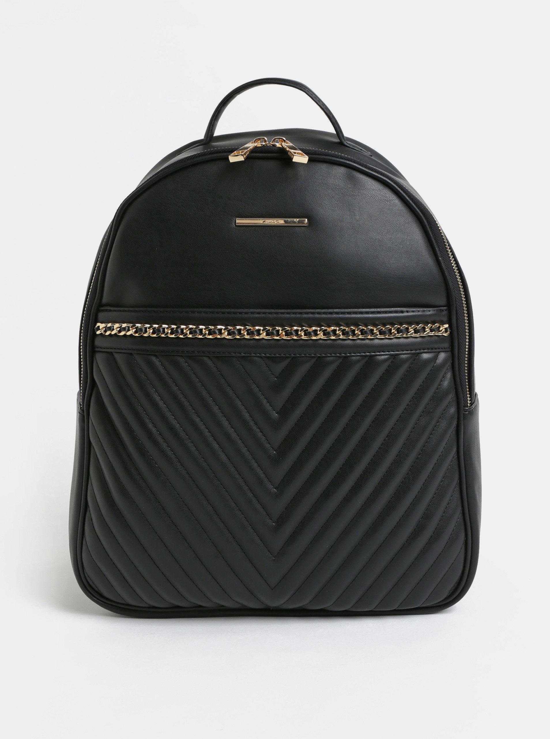 Černý elegantní batoh ALDO
