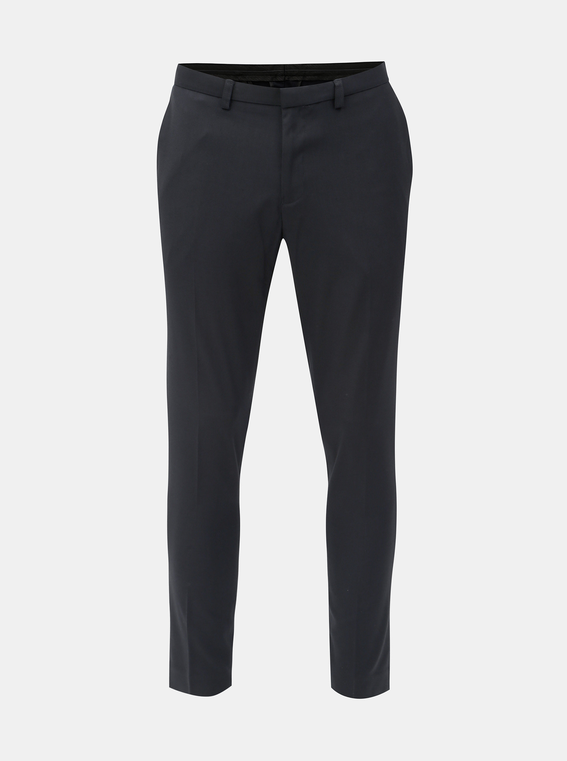 Tmavě modré super skinny fit kalhoty Burton Menswear London