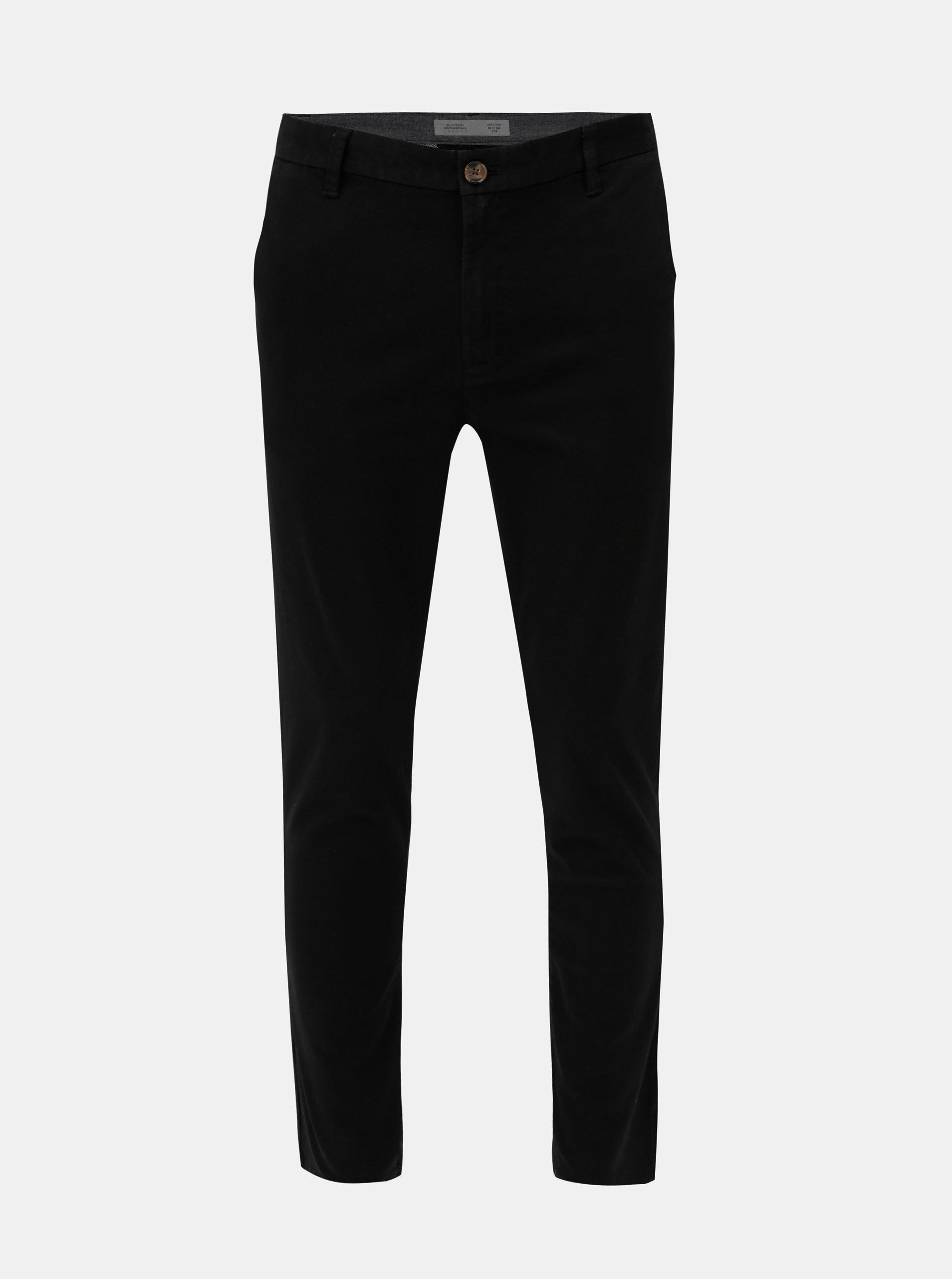 Černé skinny fit kalhoty Burton Menswear London