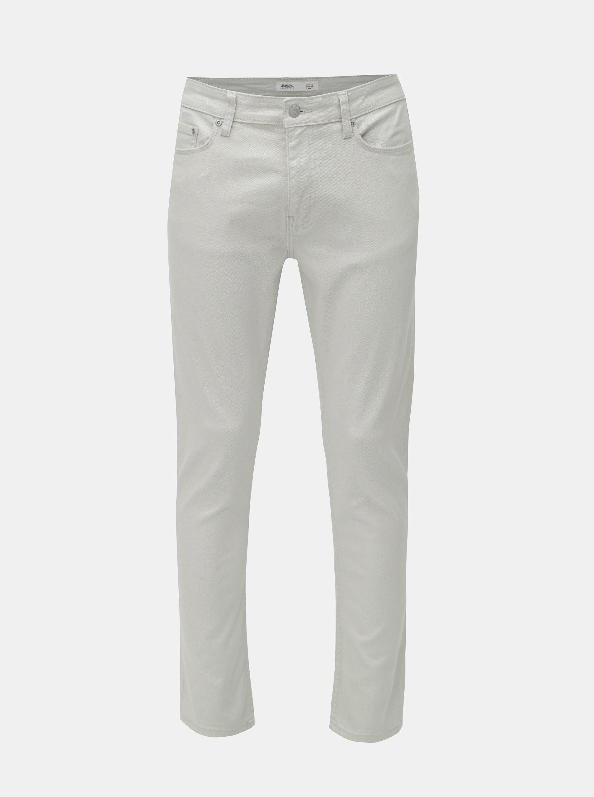 Béžové slim fit džíny Burton Menswear London