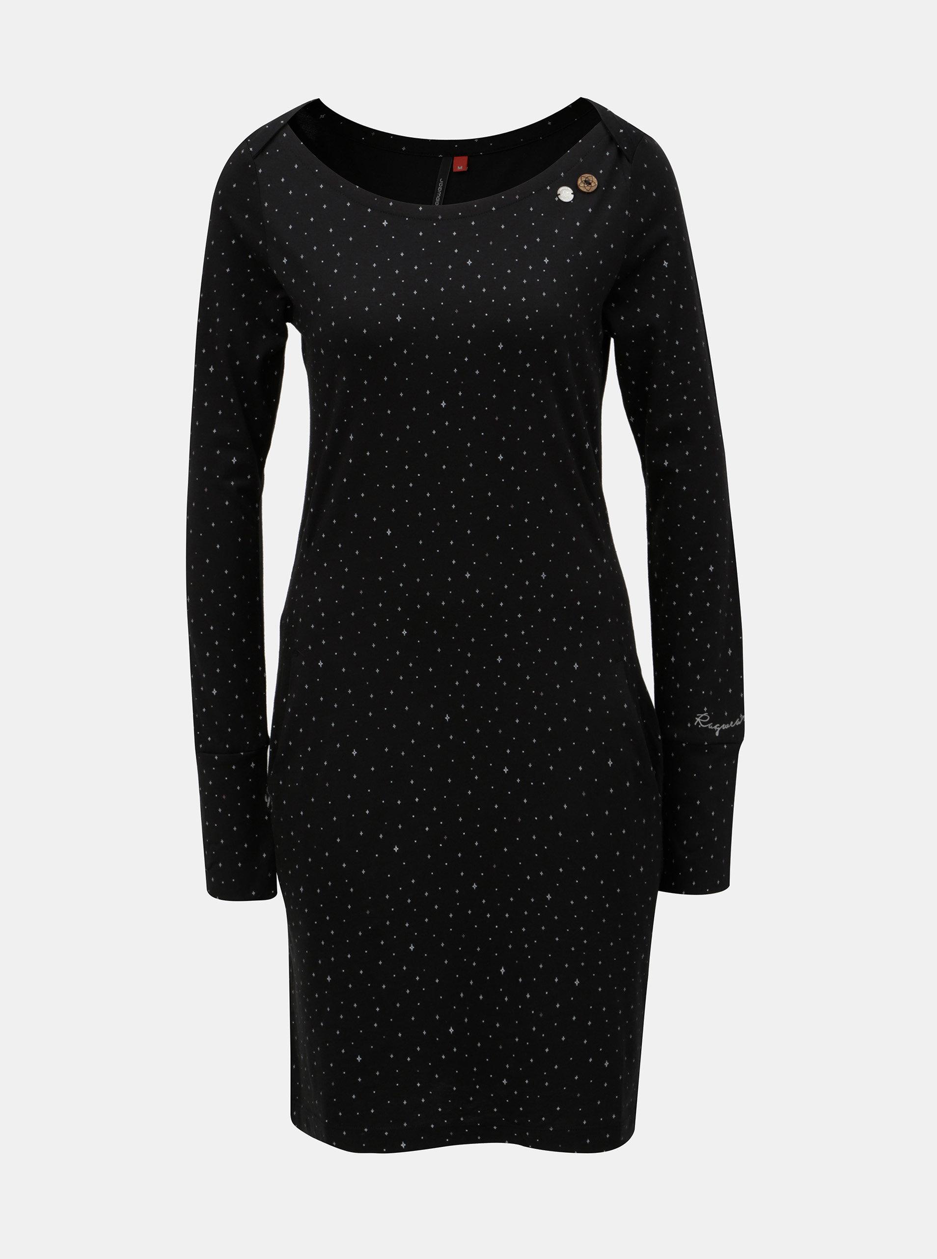 2f2fef4a8f56 Tmavomodré vzorované šaty s vreckami Ragwear River ...