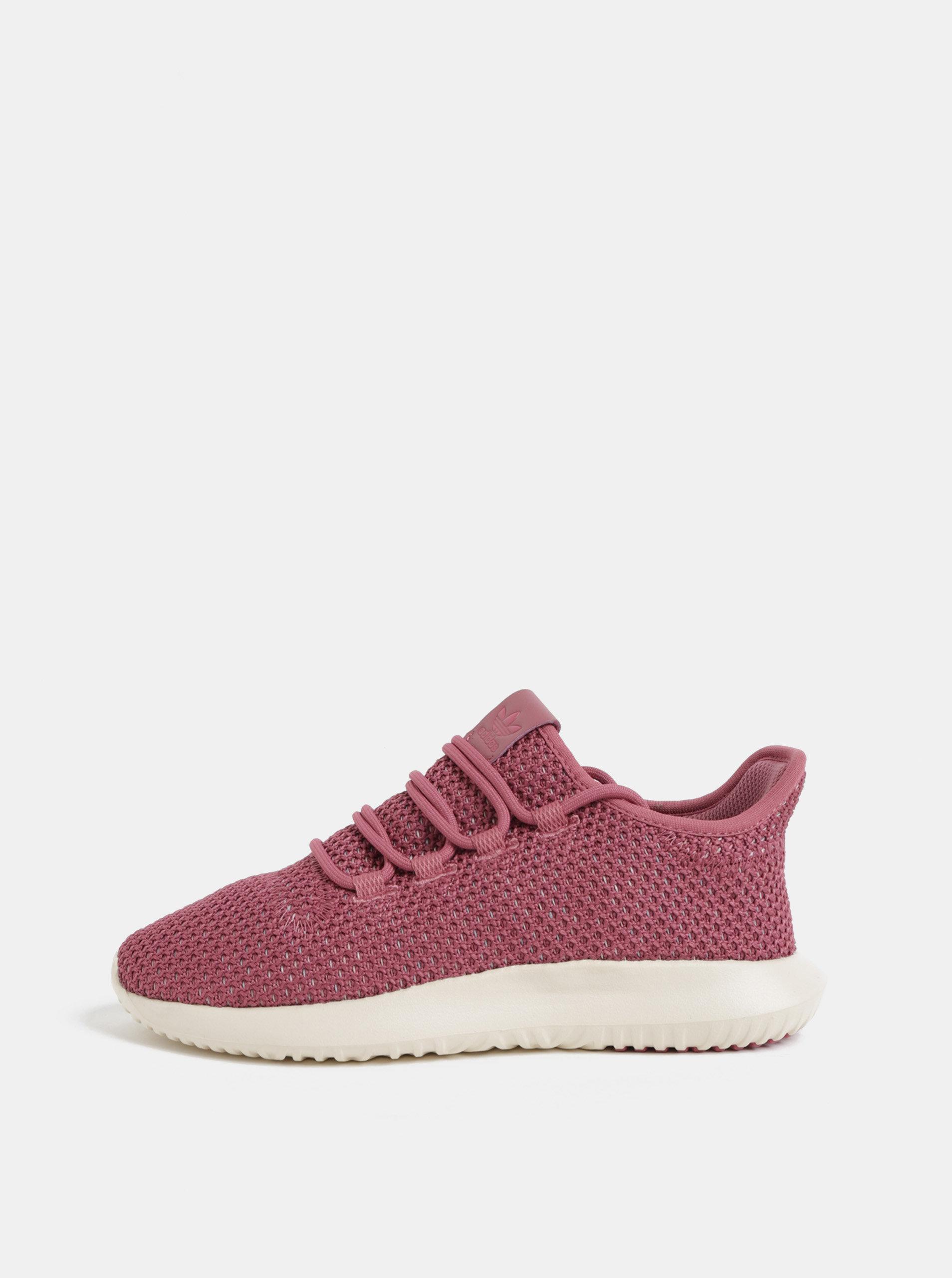 Růžové dámské tenisky adidas Originals Tubular Shadow