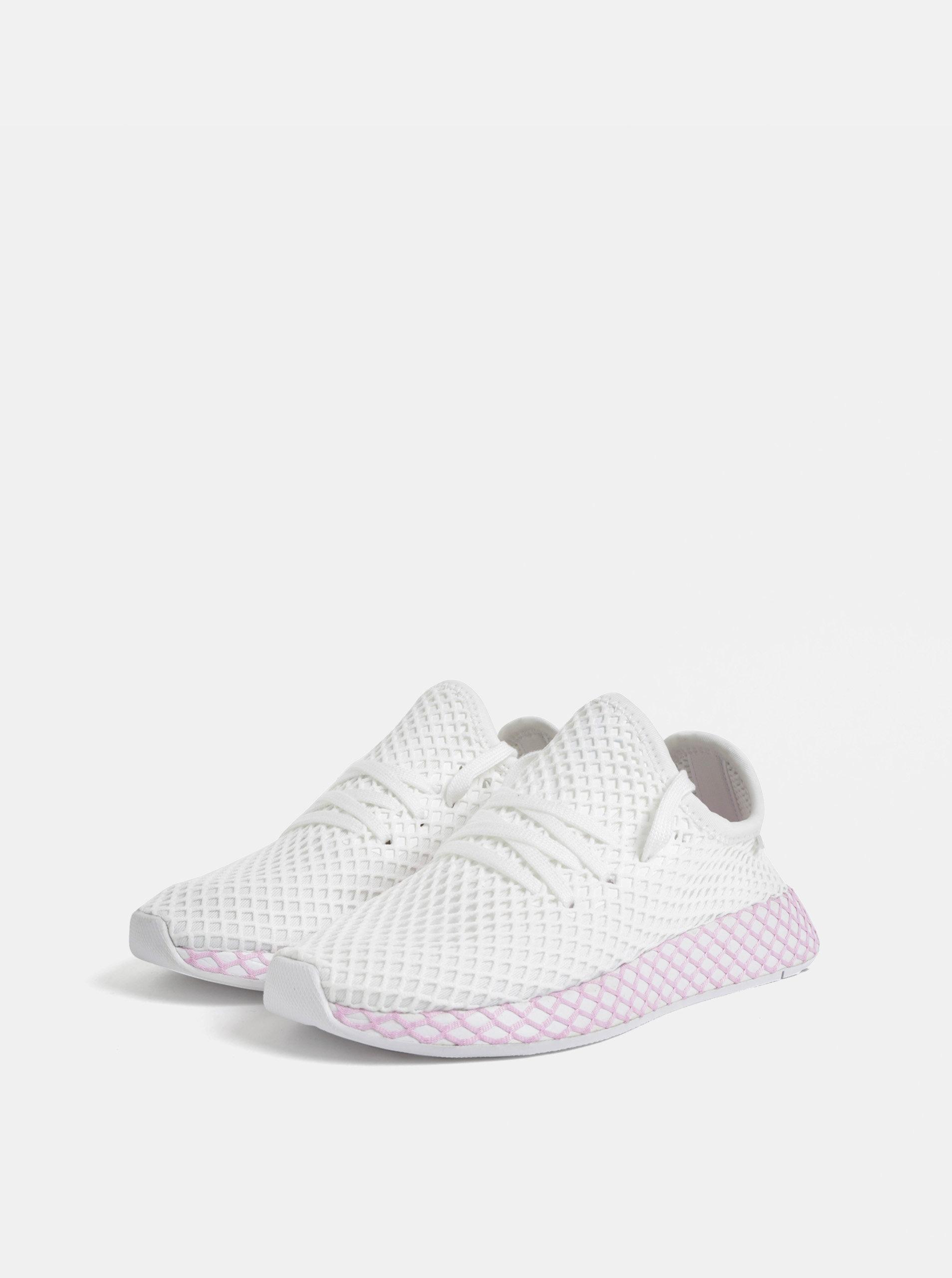 Deerupt Bílé Dámské Sleva Síťované Adidas Originals Růžovo ...