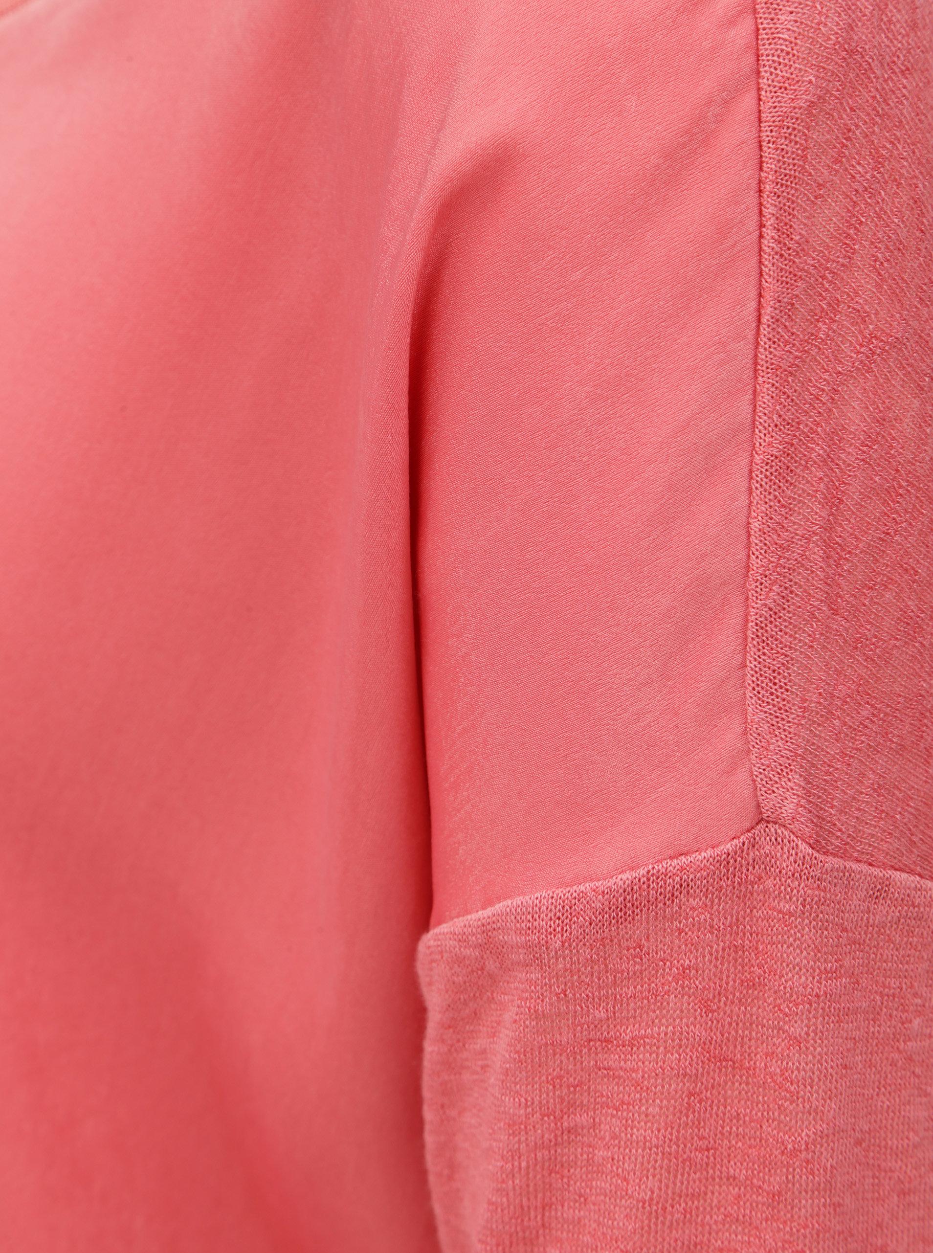 b2e51650d69f Ružová blúzka s 3 4 rukávom ONLY Bern ...