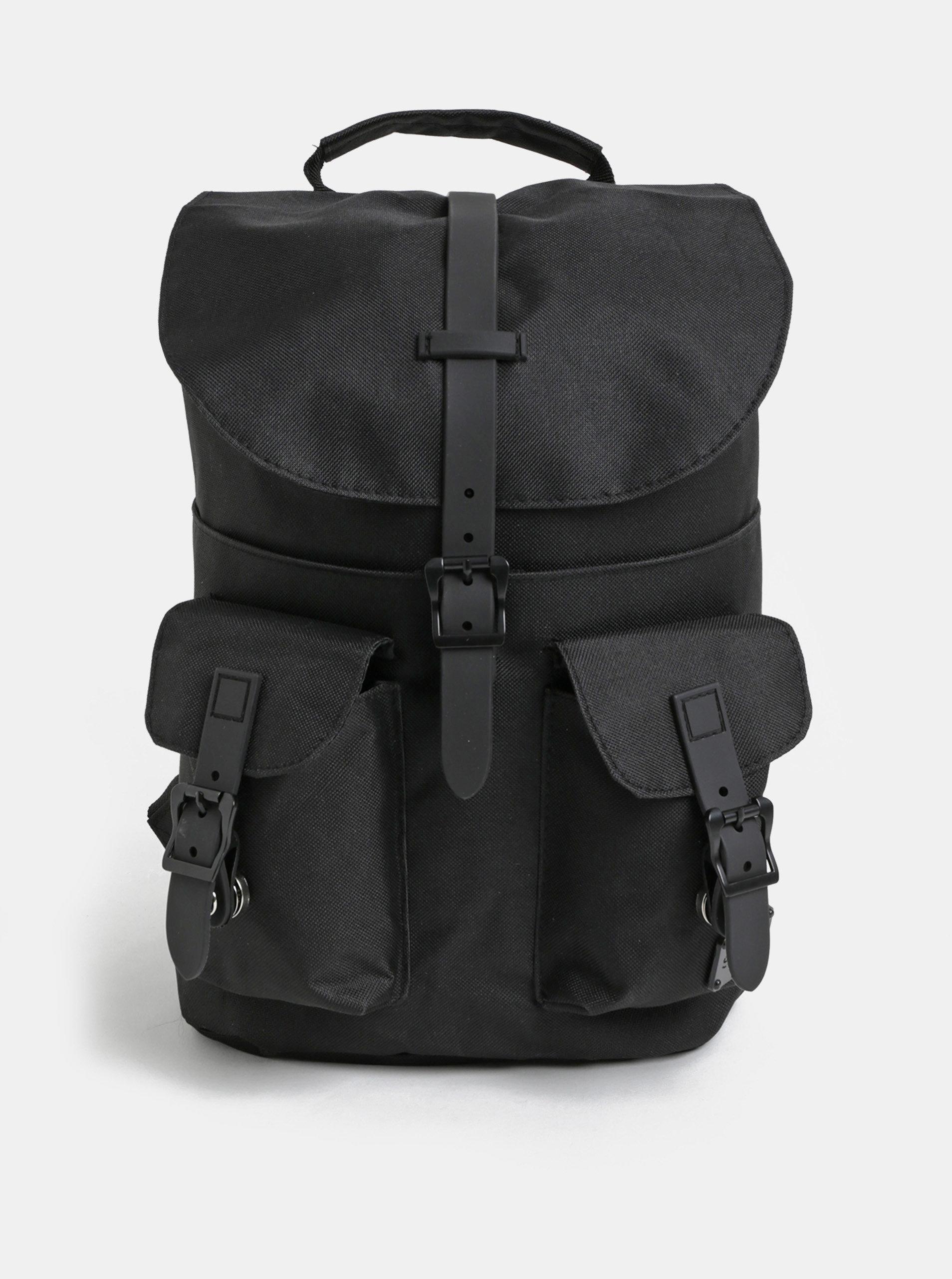 Černý batoh s kapsami Spiral Little 8 l