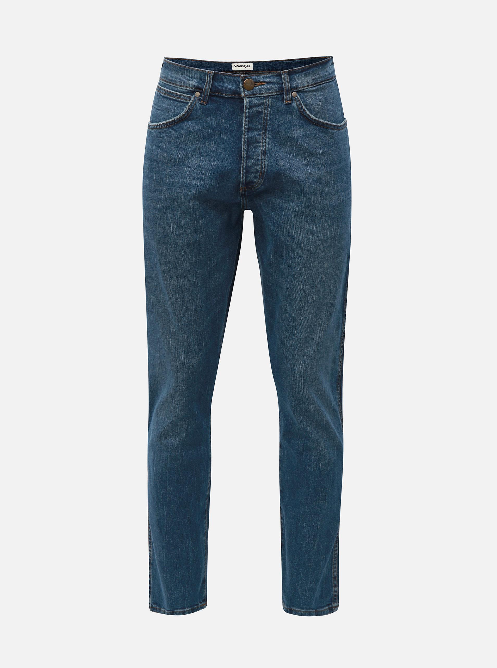 a12ea41f902 Modré pánské džíny Wrangler ...
