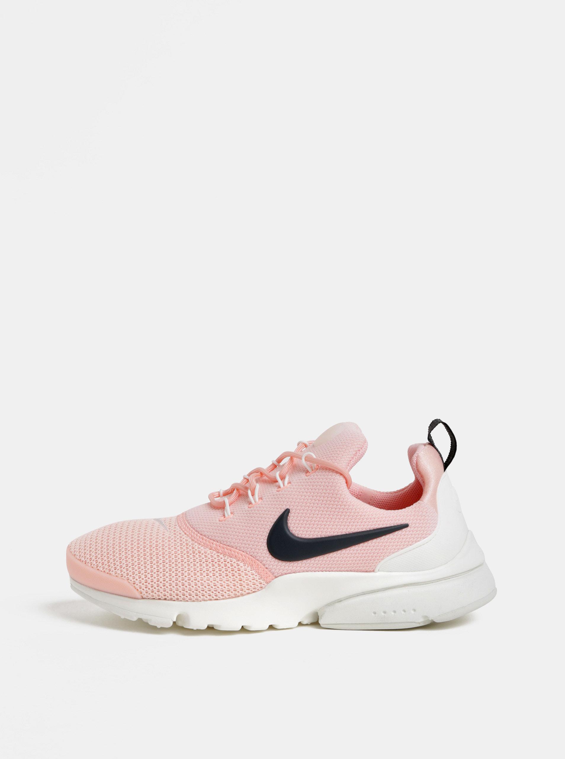 Růžové dámské tenisky Nike presto Fly