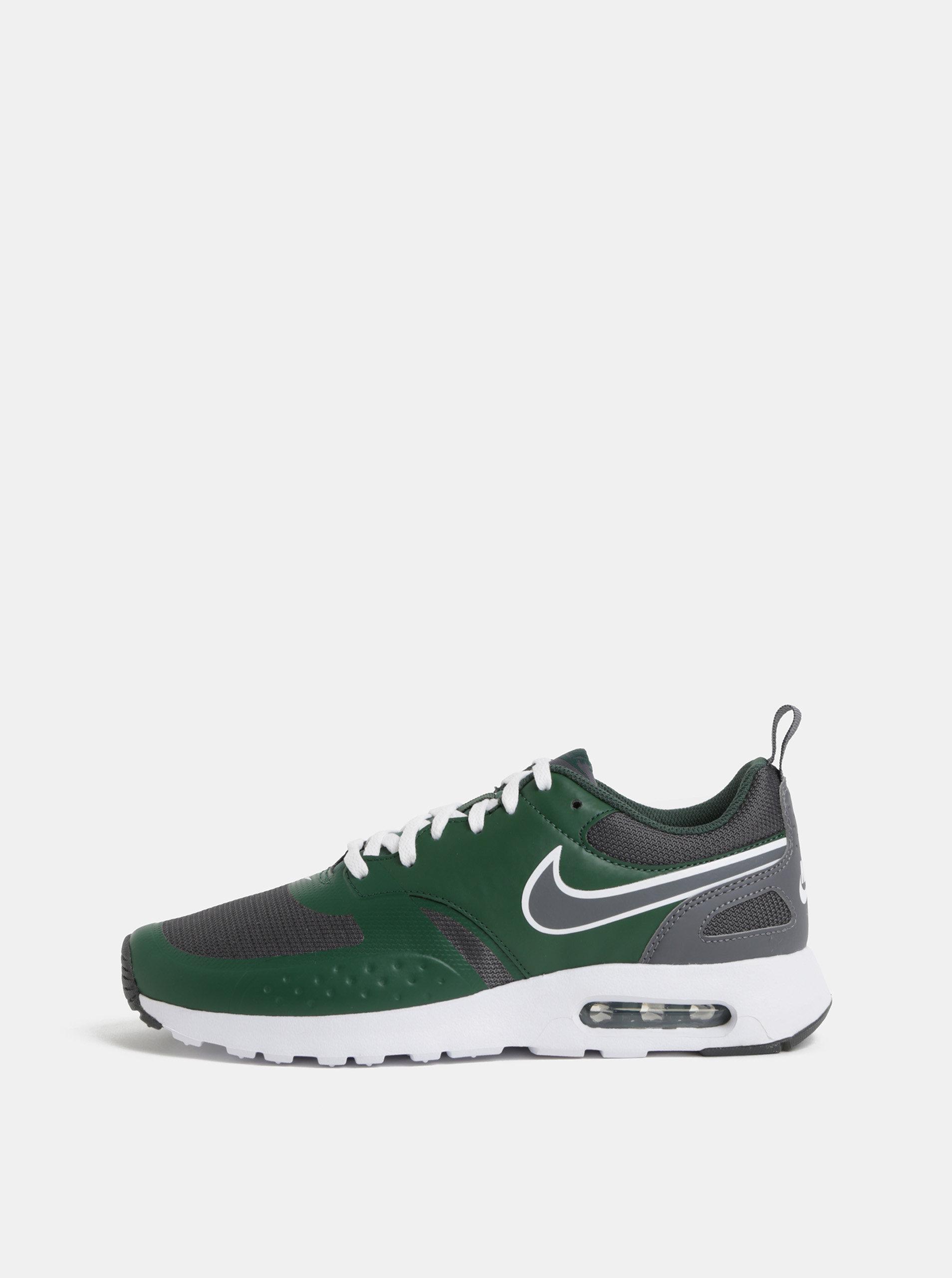 Šedo-zelené pánské tenisky Nike Air Max Vision Shoe