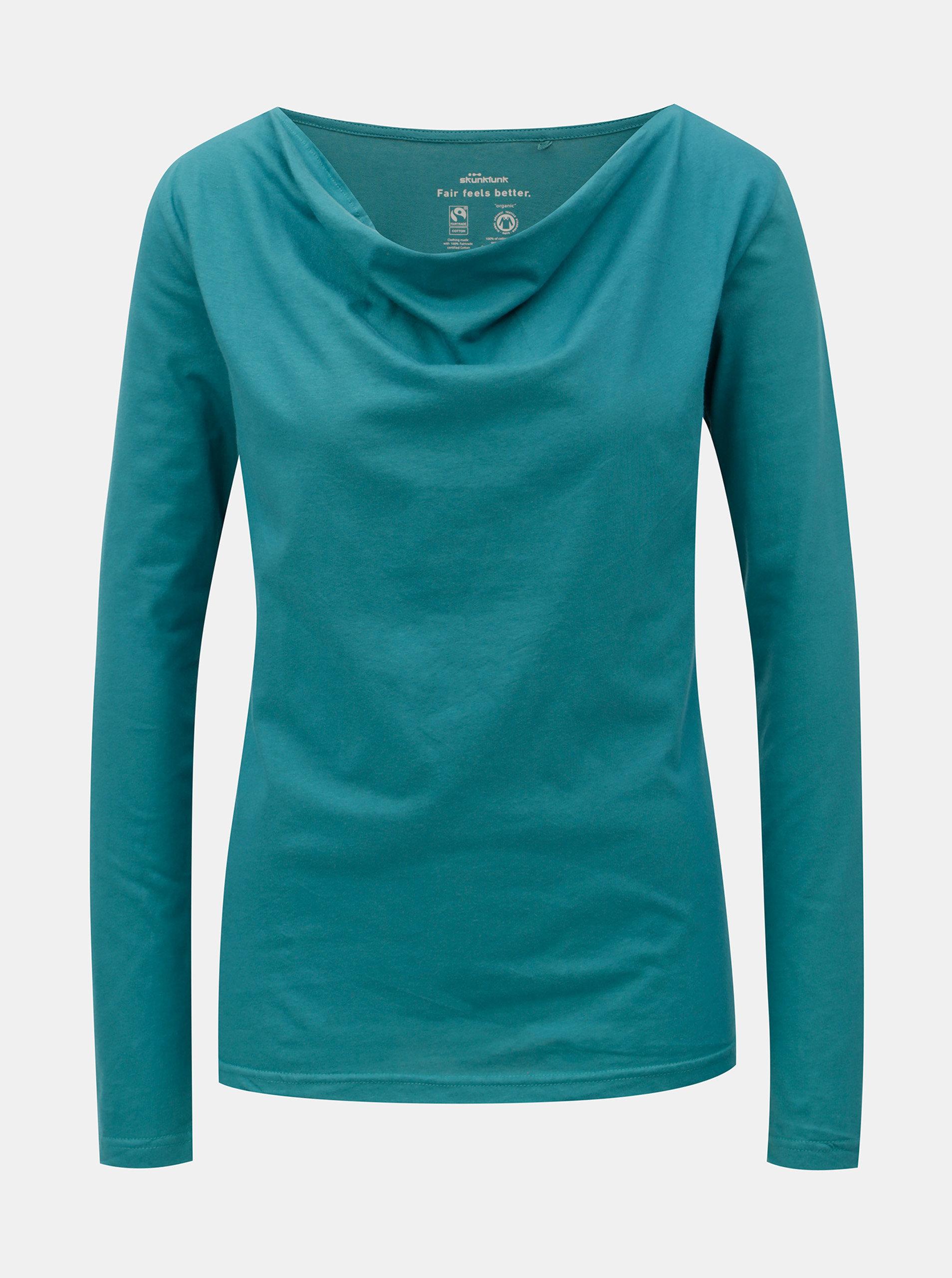 Modré tričko s dlouhým rukávem SKFK Hogei