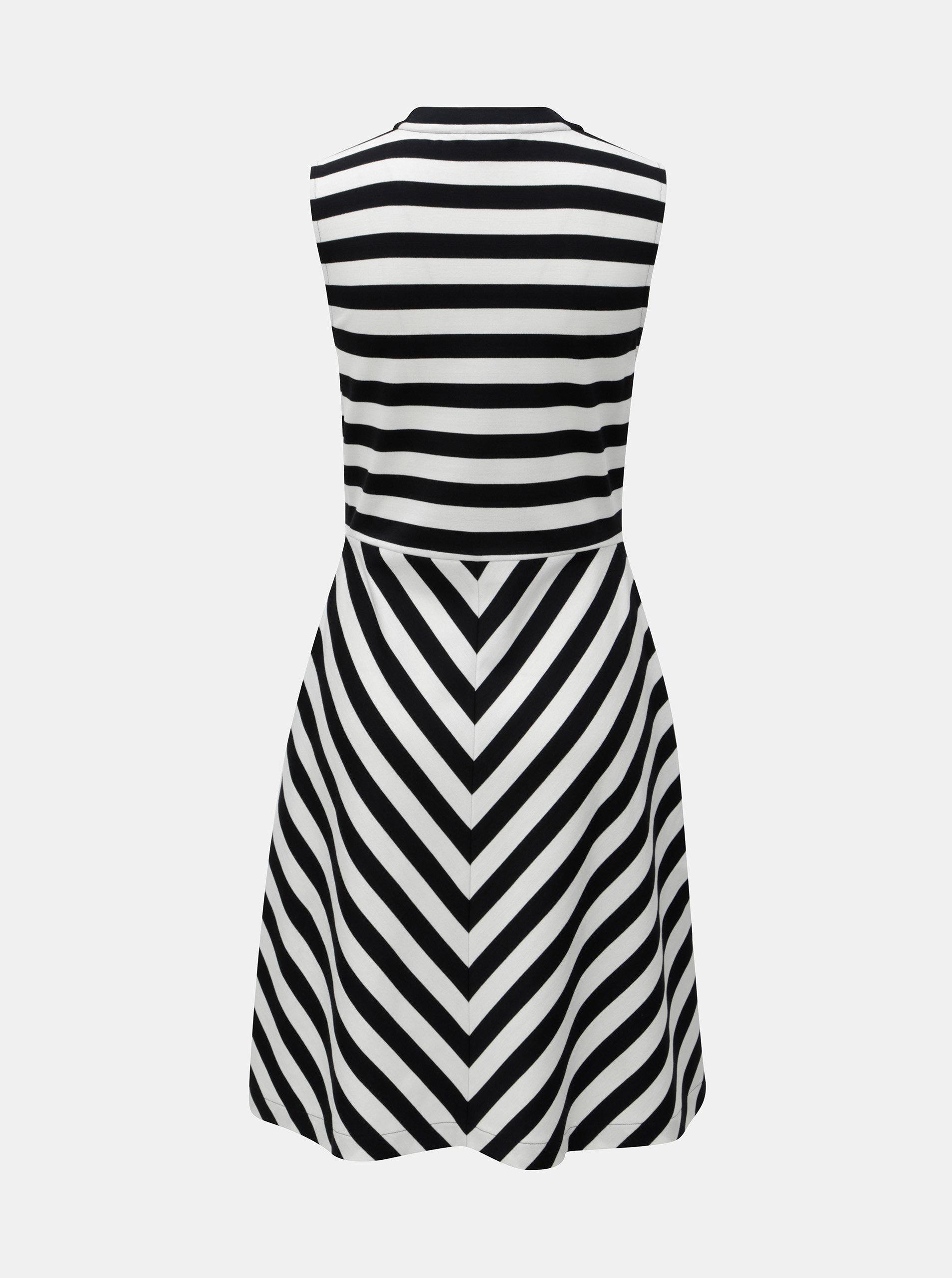 Černo-bílé pruhované šaty Tommy Hilfiger ... dfbd0d54a35