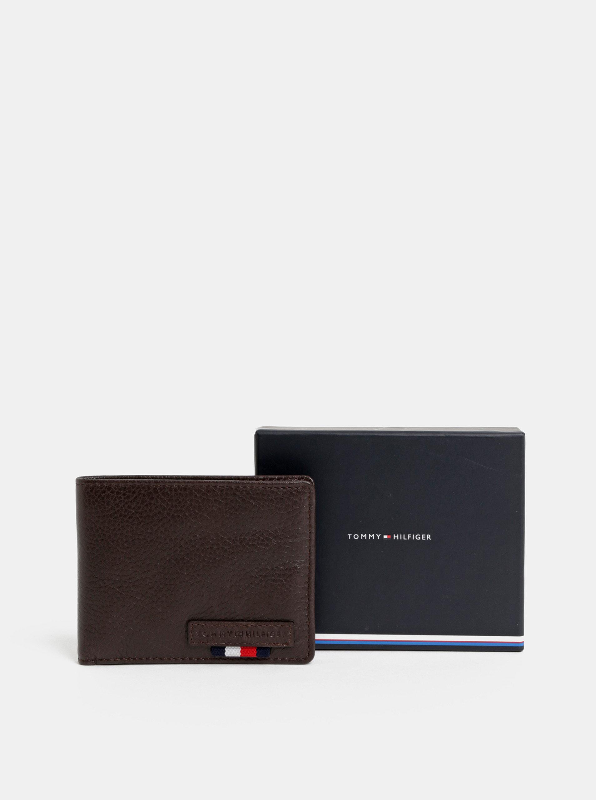 Hnedá kožená peňaženka Tommy Hilfiger ... 401d8795a5b
