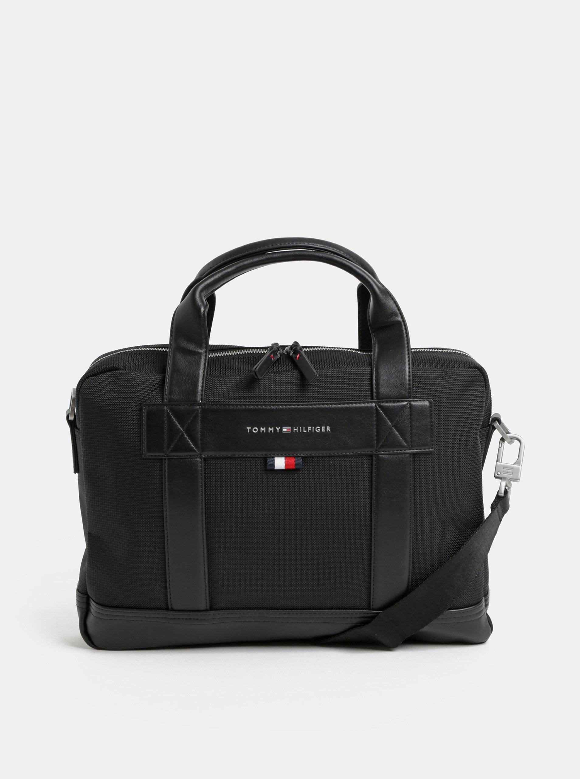 0f3b0716b5 Čierna taška na notebook Tommy Hilfiger ...
