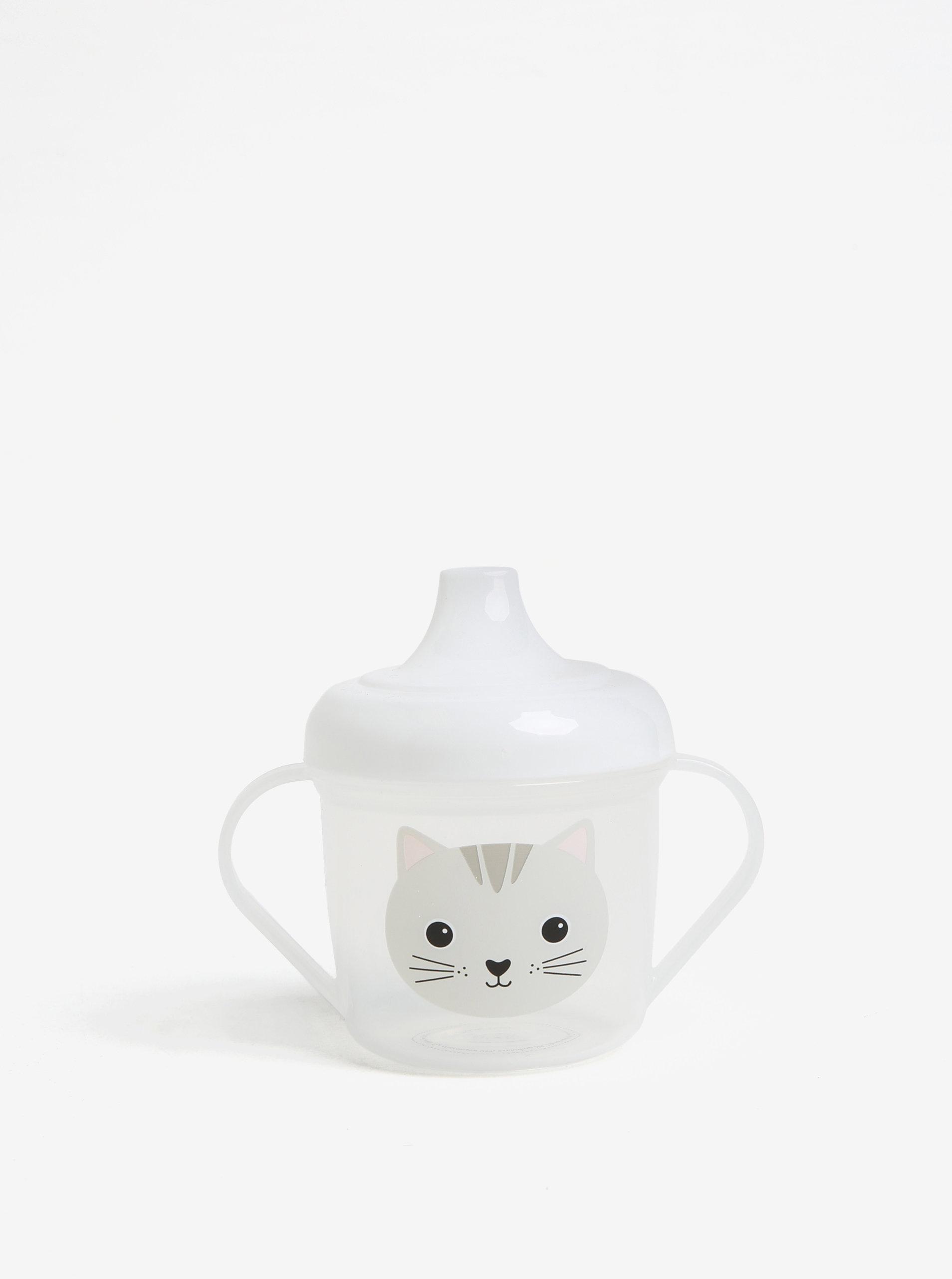 23c508947 Transparentný detský hrnček s motívom mačky Sass & Belle | ZOOT.sk