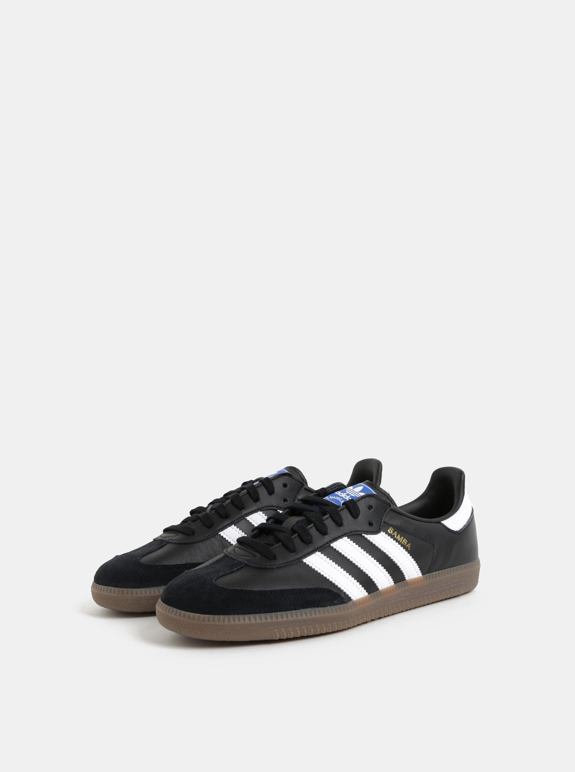 0344fad03 Černé pánské kožené tenisky adidas Originals Samba | ZOOT.cz