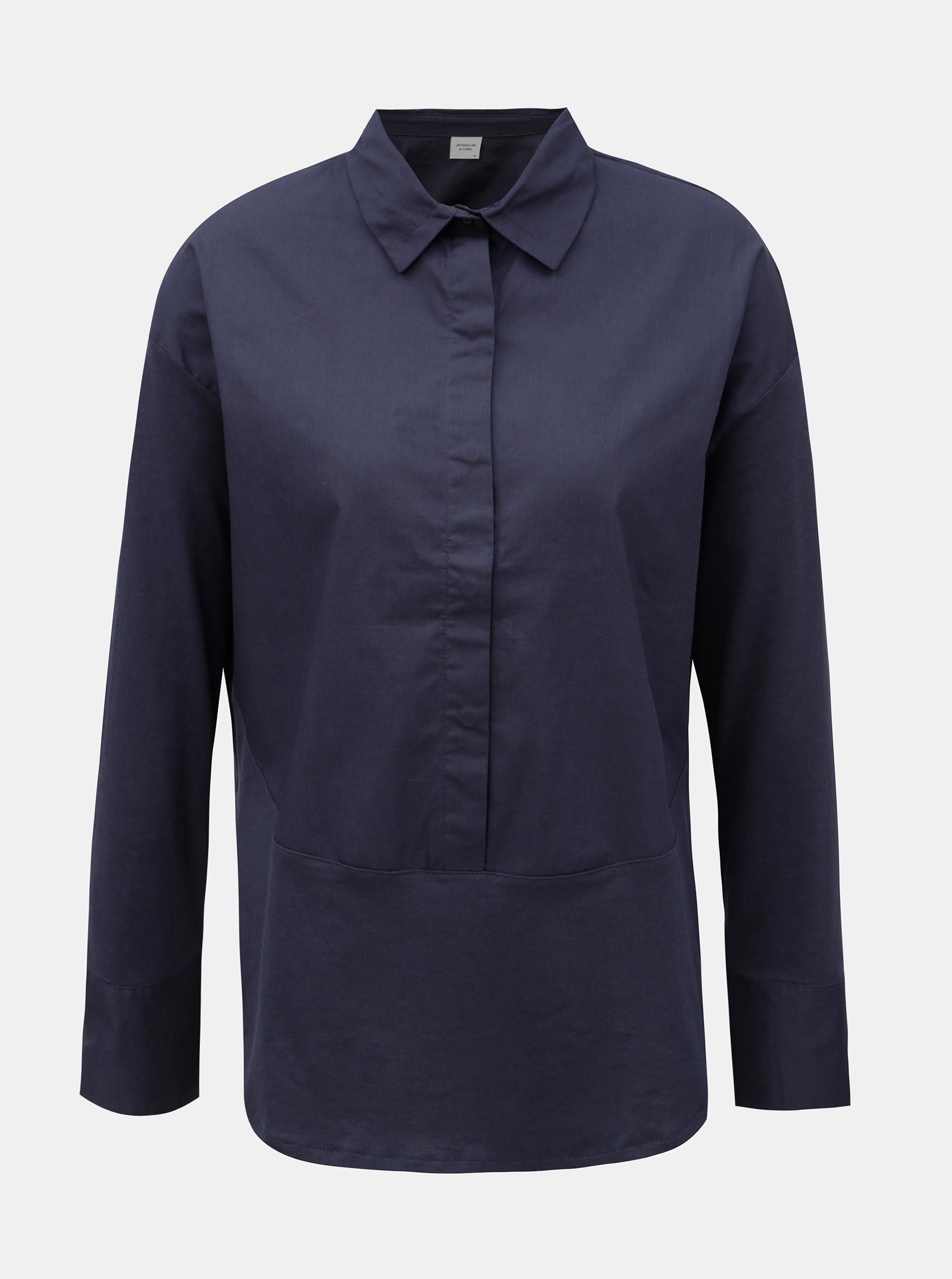 c58088989c3 Tmavě modrá košile Jacqueline de Yong Lima ...