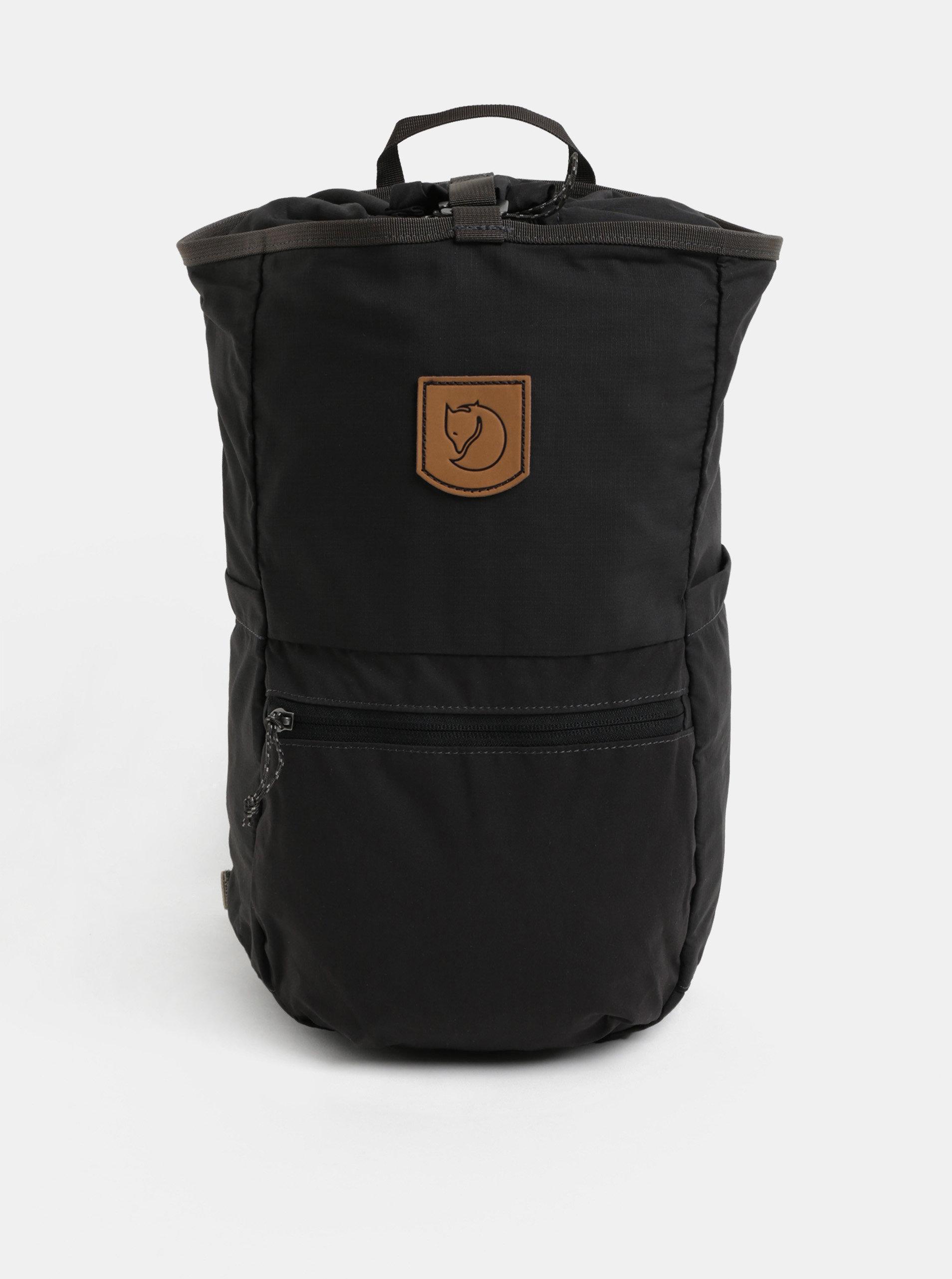 Sivý batoh s koženou nášivkou Fjällräven High Coast 18 l ... a971229749