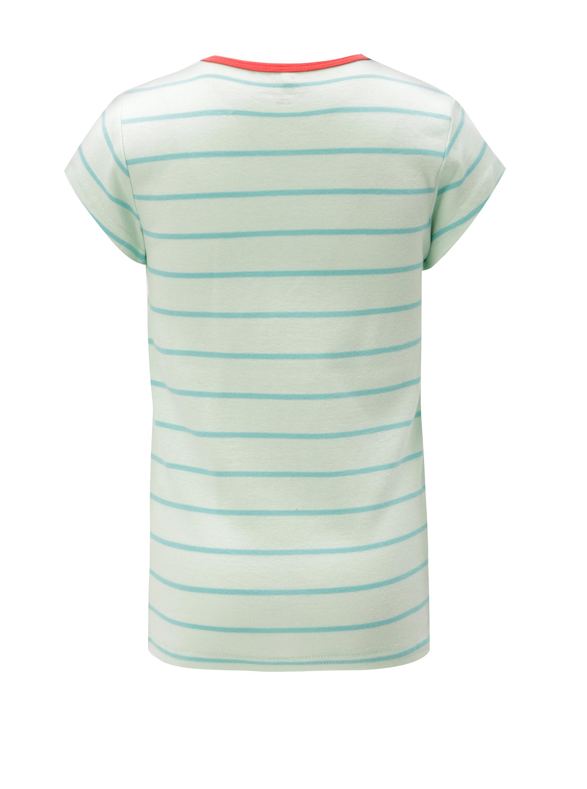 c5b3b094bddab Zelené dievčenské pruhované tričko name it Verit   ZOOT.sk
