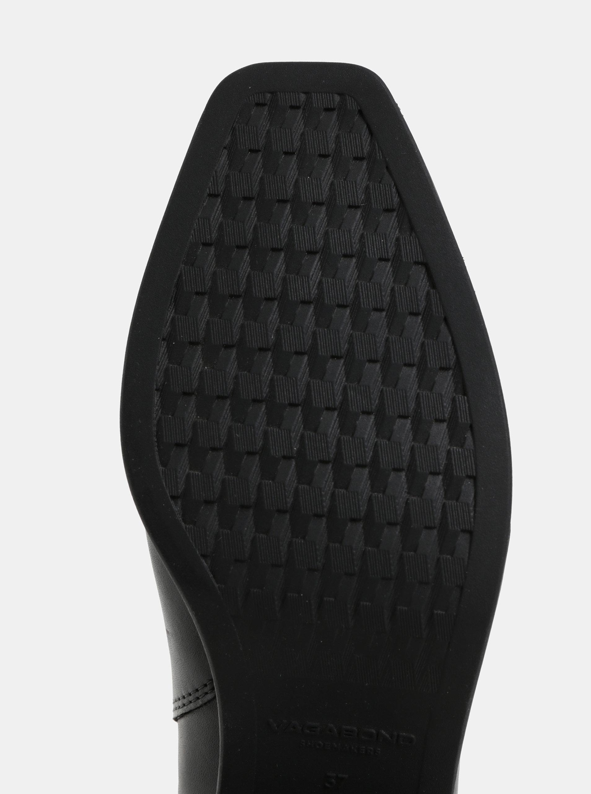 87efd2cc6eb4 Čierne dámske kožené chelsea topánky Vagabond Simone ...