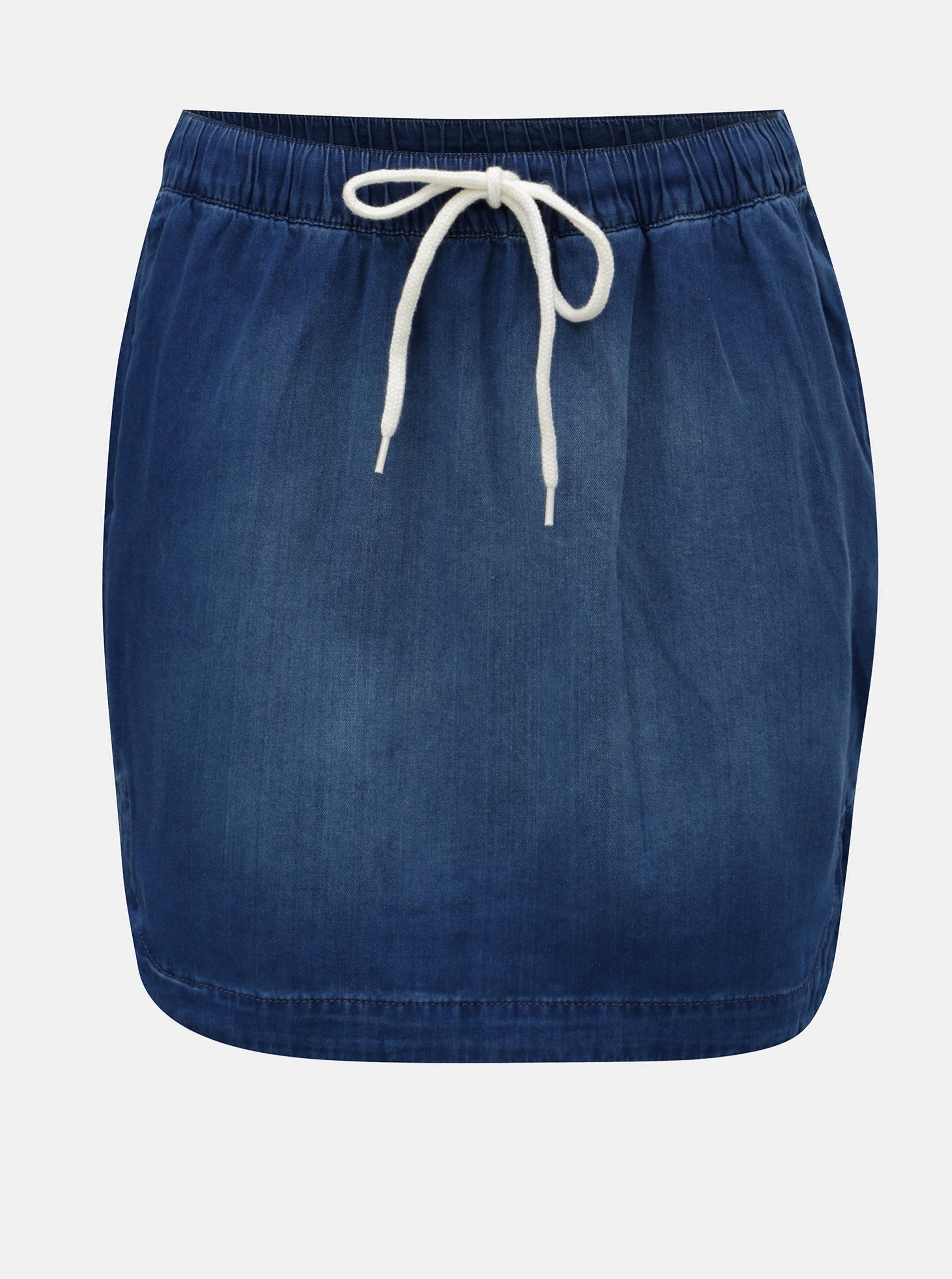 Modrá džínová sukně s kapsami QS by s.Oliver