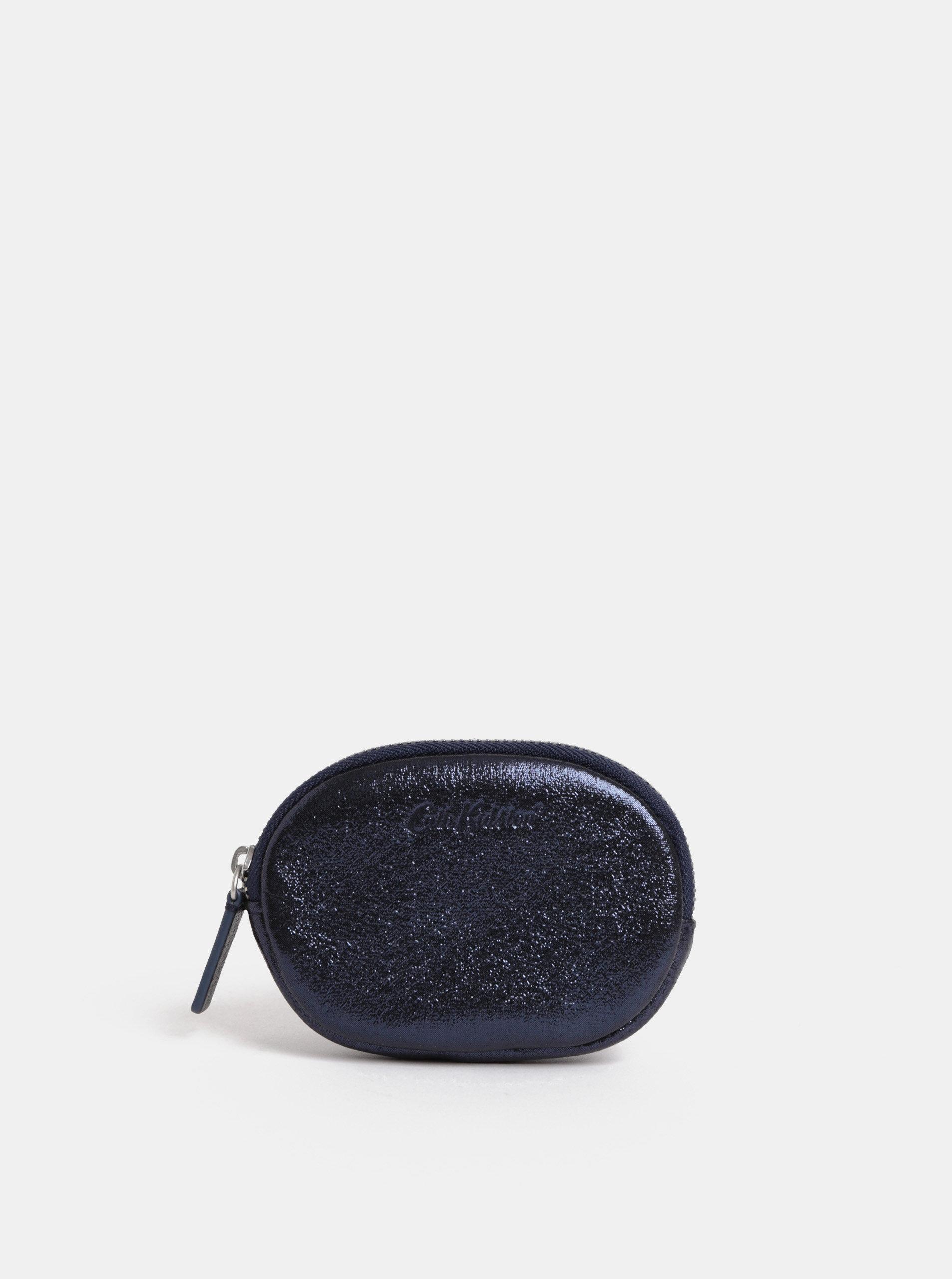 Tmavě modrá třpytivá peněženka na mince Cath Kidston