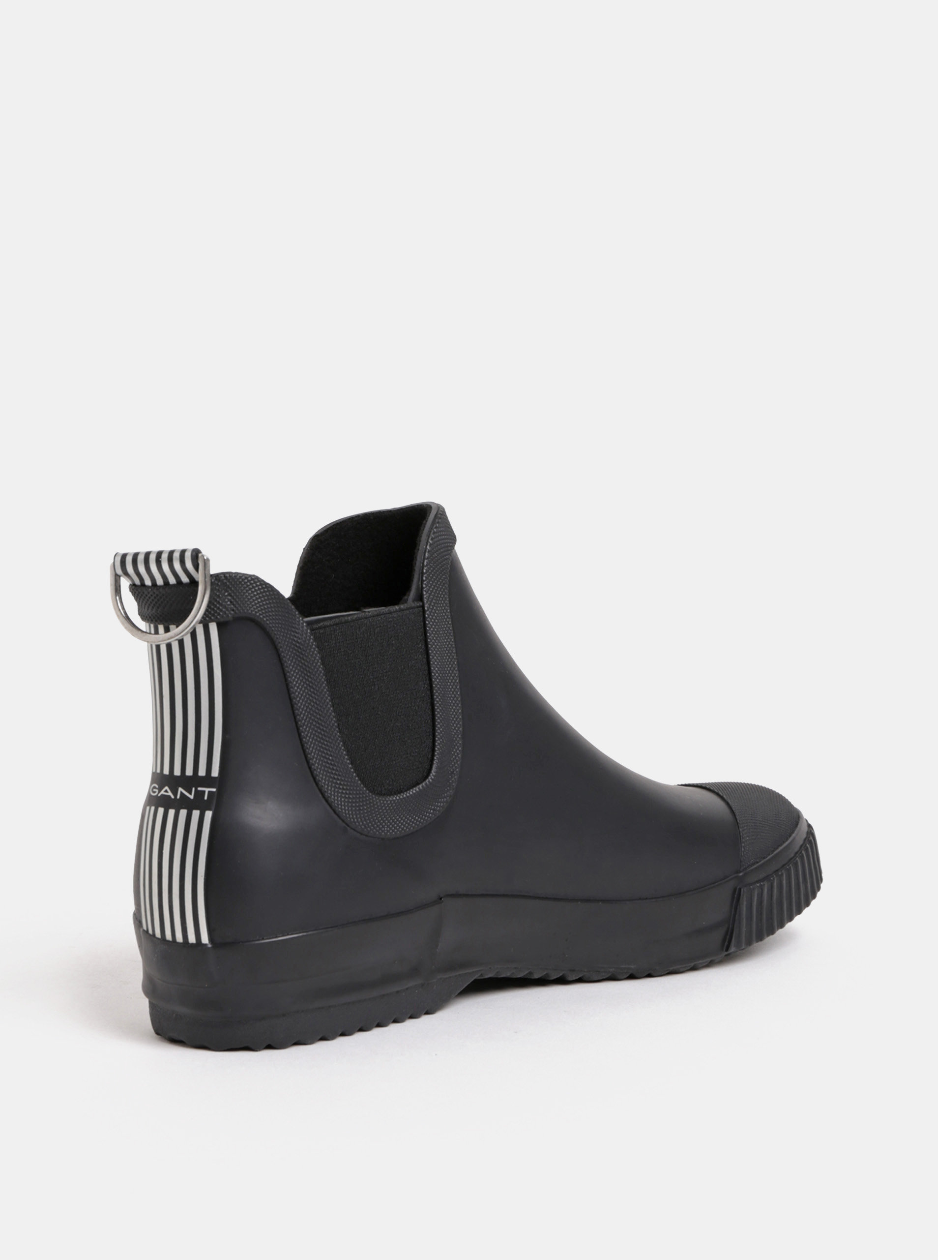 b43e375d6 Čierne dámske gumové chelsea topánky GANT Mandy | ZOOT.sk
