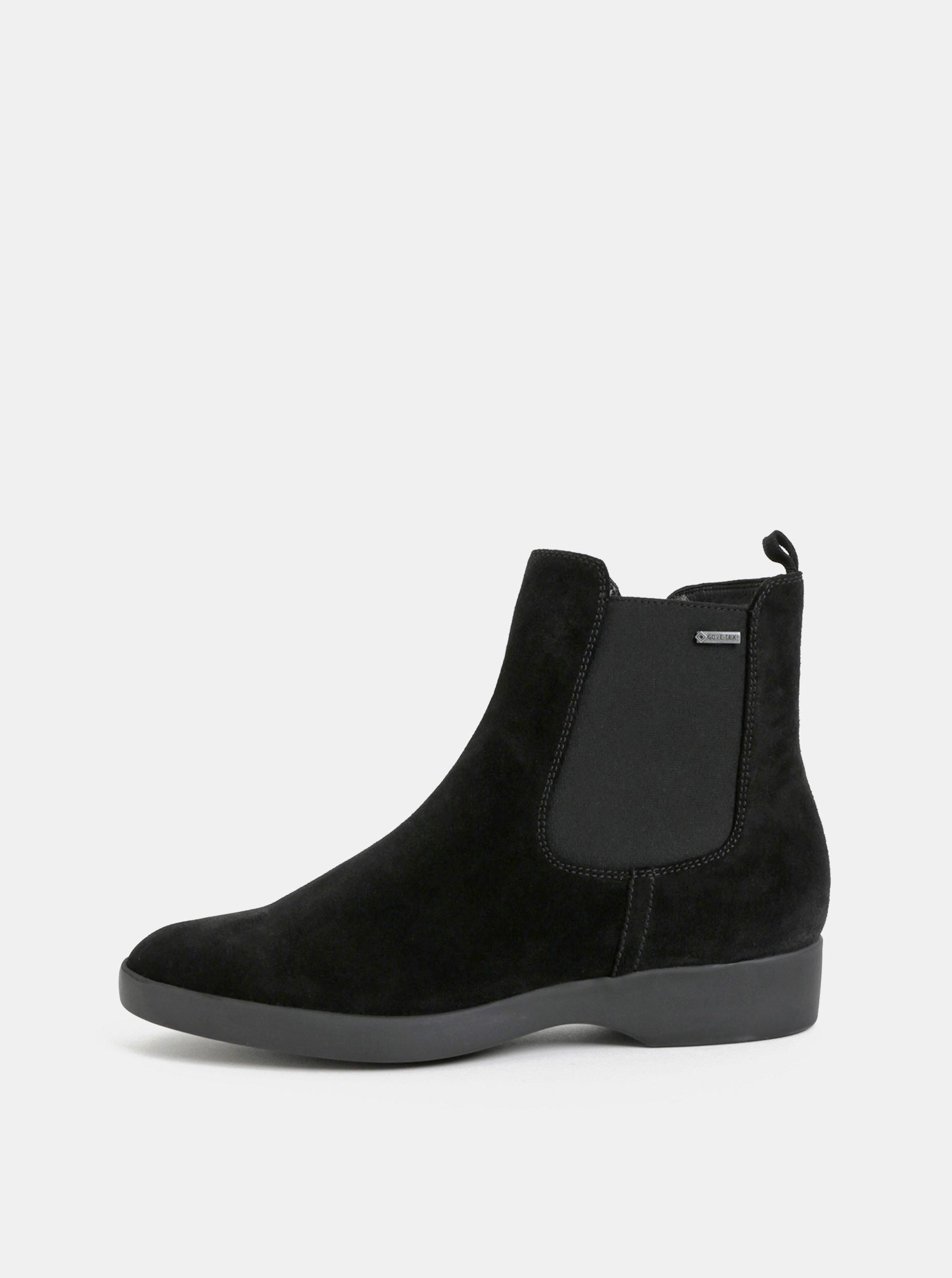 9c0090b3798 Černé semišové chelsea boty Högl ...