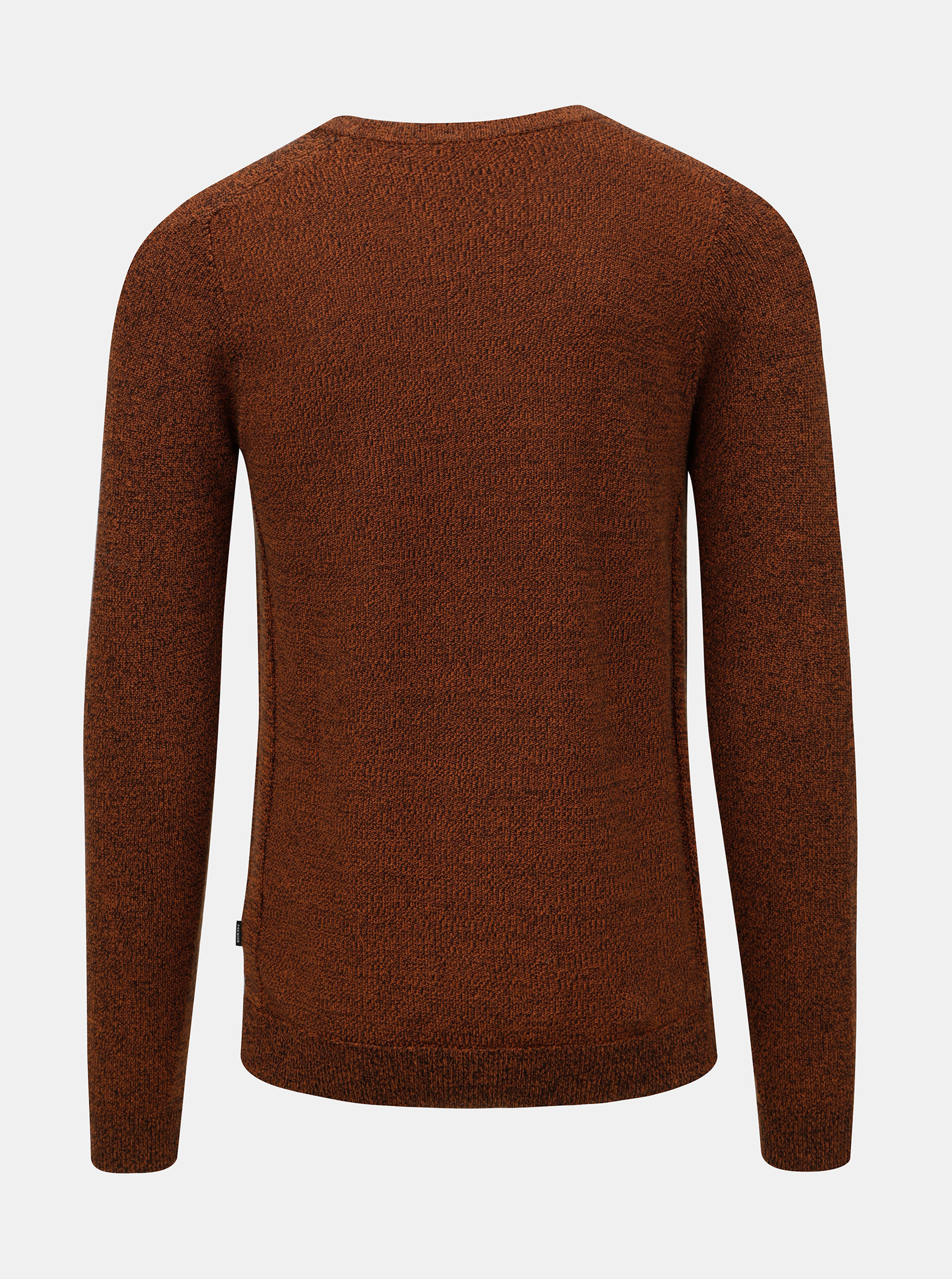 eb9f2dc69eb3 Hnedý melírovaný sveter Jack   Jones Maine ...