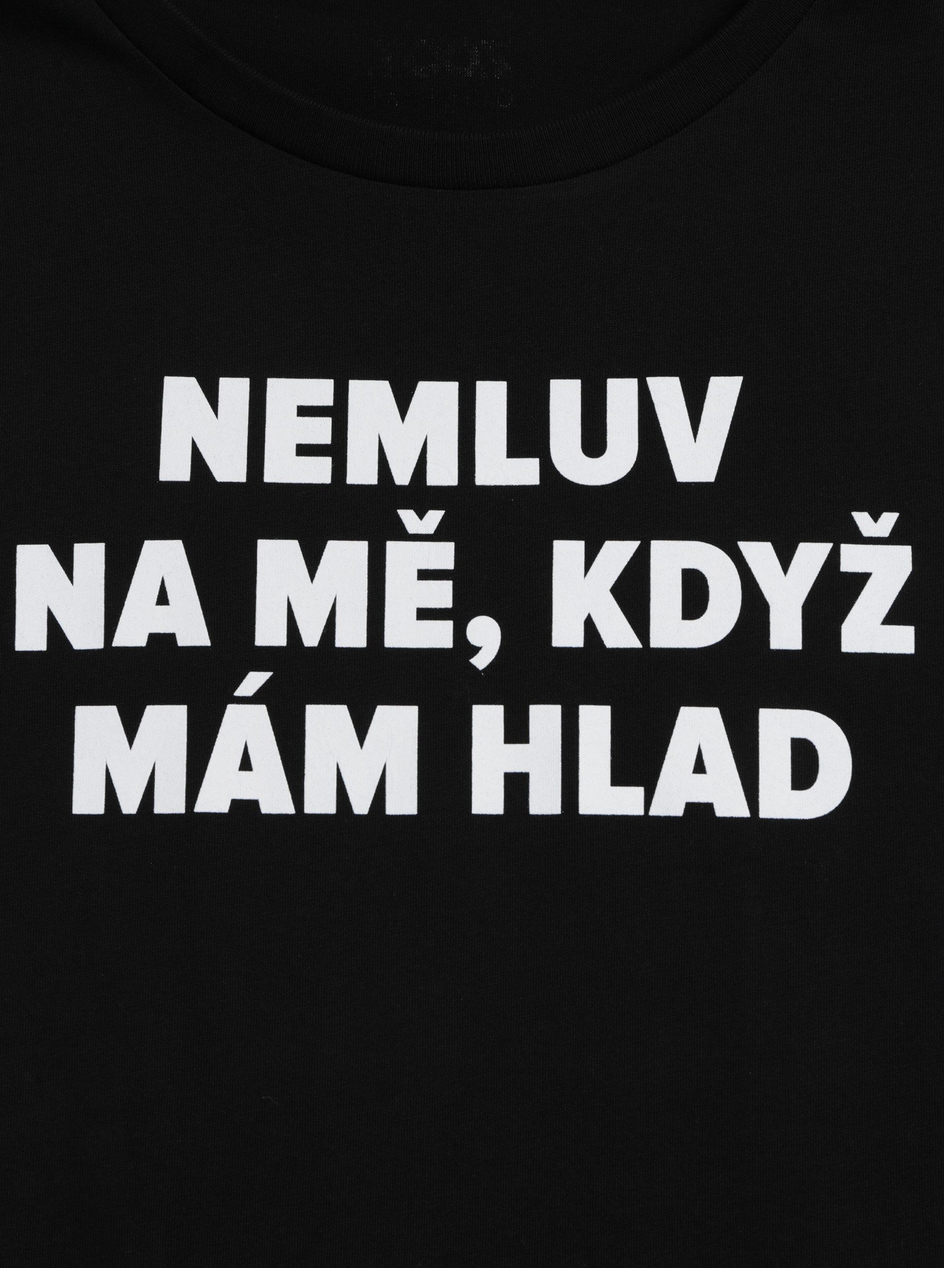 aefd72635a65 Čierne dámske tričko s potlačou ZOOT Original Hlad ...