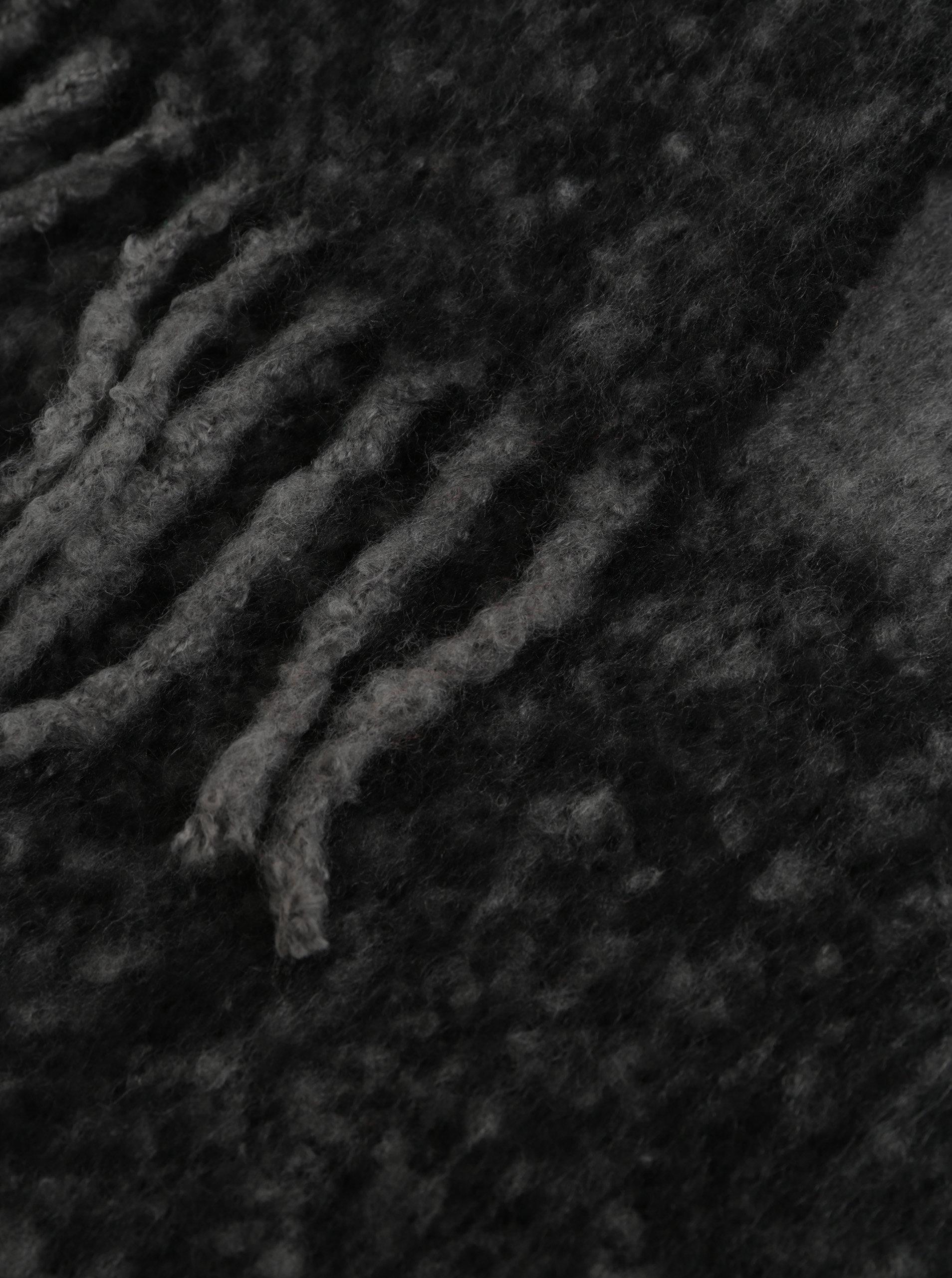 aa672e45f27 Šedo-černá šála Pieces Kuma ...