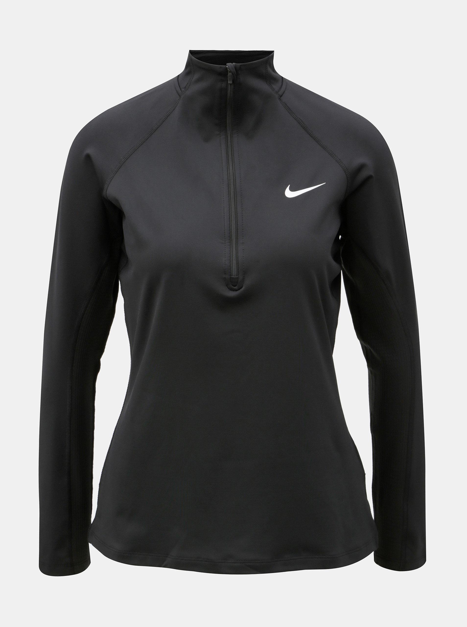 Černé dámské funkční tričko Nike ... 0f07259c25