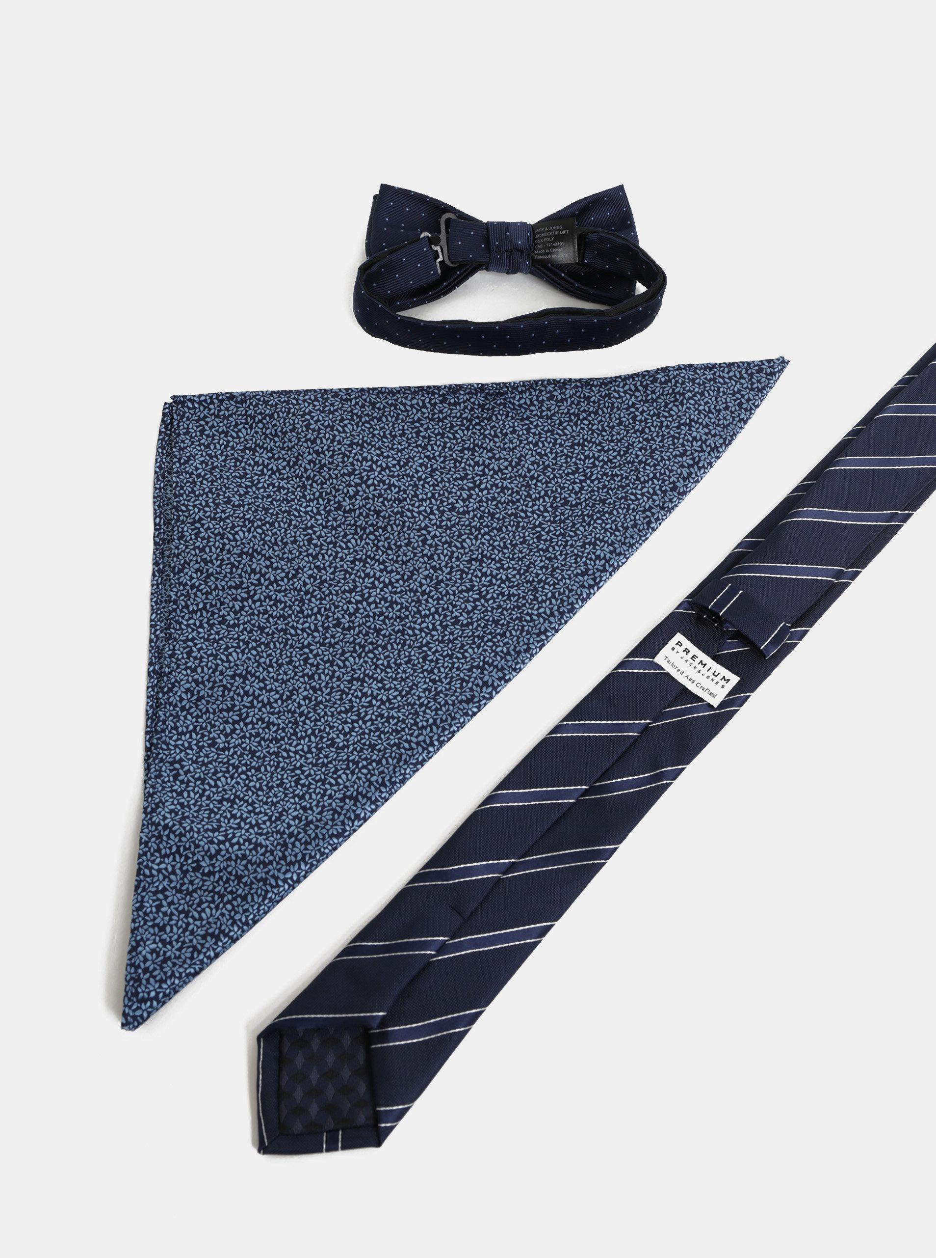 a59197f8435 Dárková sada slim kravaty