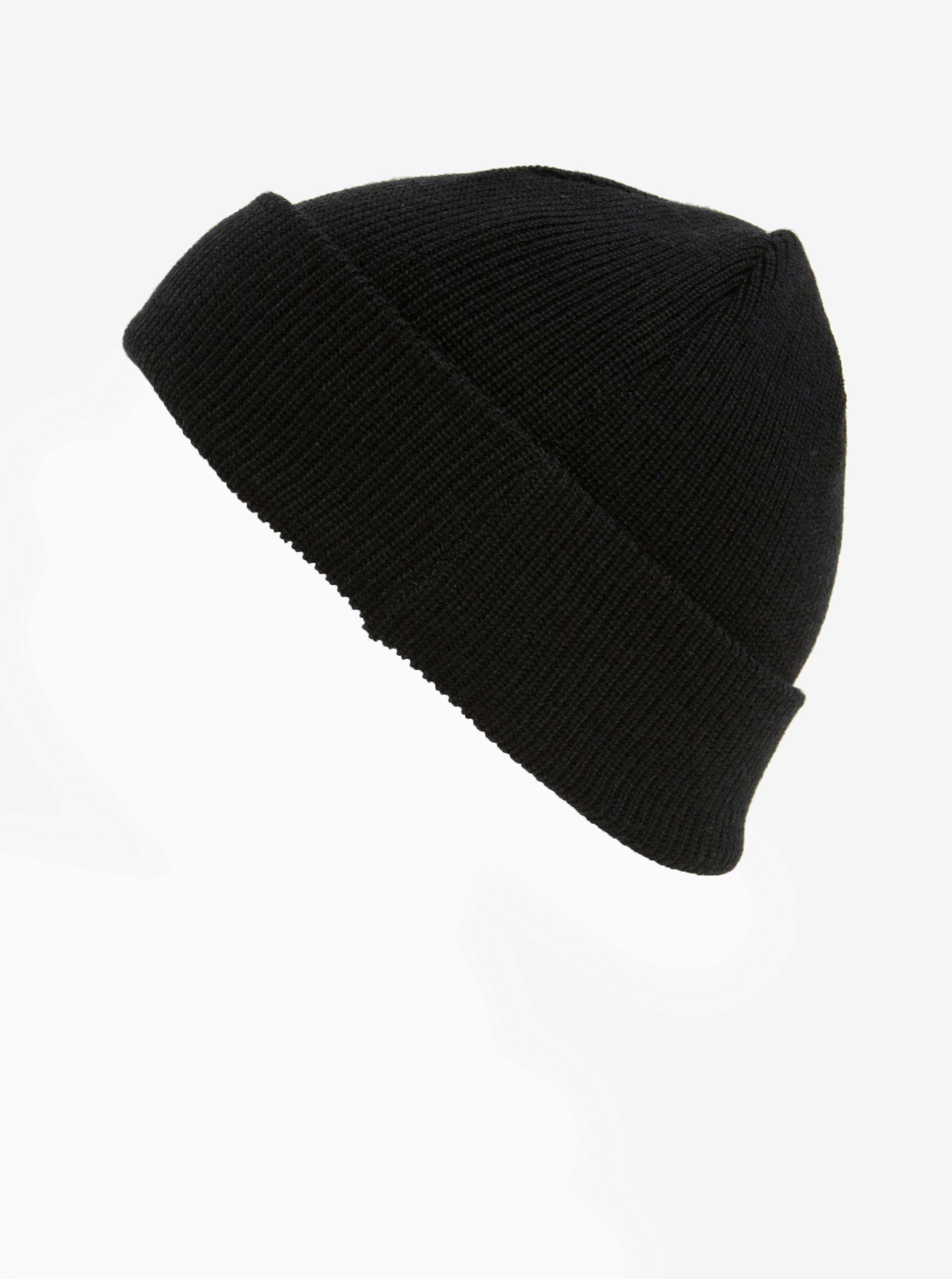 Černá pánská čepice z Merino vlny Makia Merino ... 2da415c323