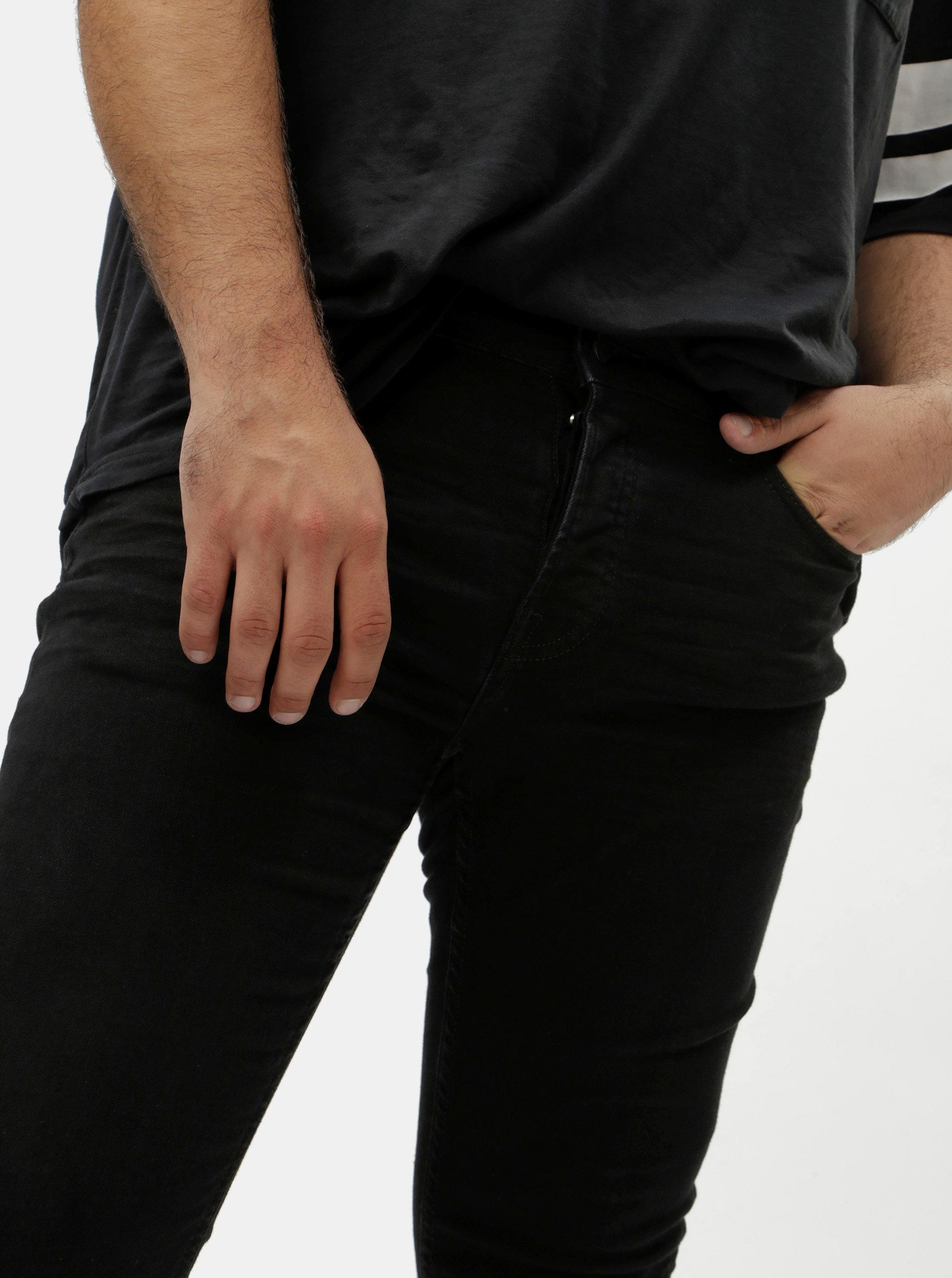 Černé pánské džíny ONLY   SONS Loom ... 6cb66a9b68