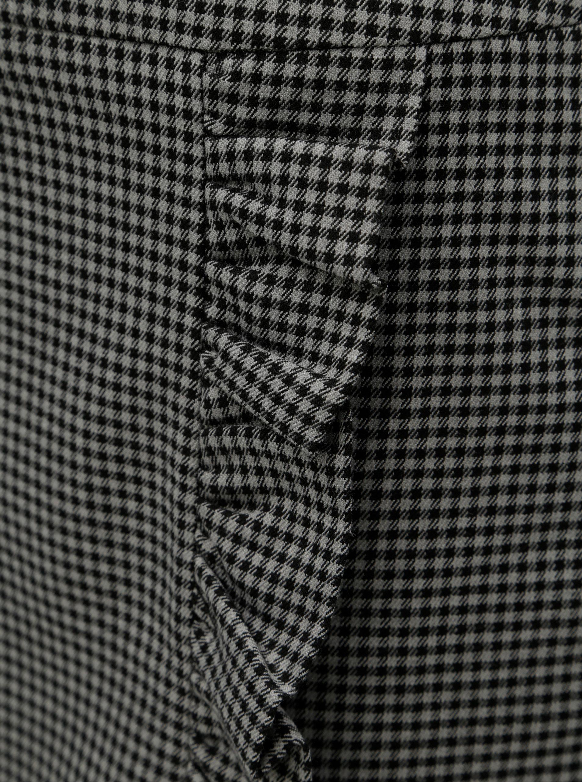 Černo-šedá vzorovaná minisukně VERO MODA Ylva ... 90f745686c