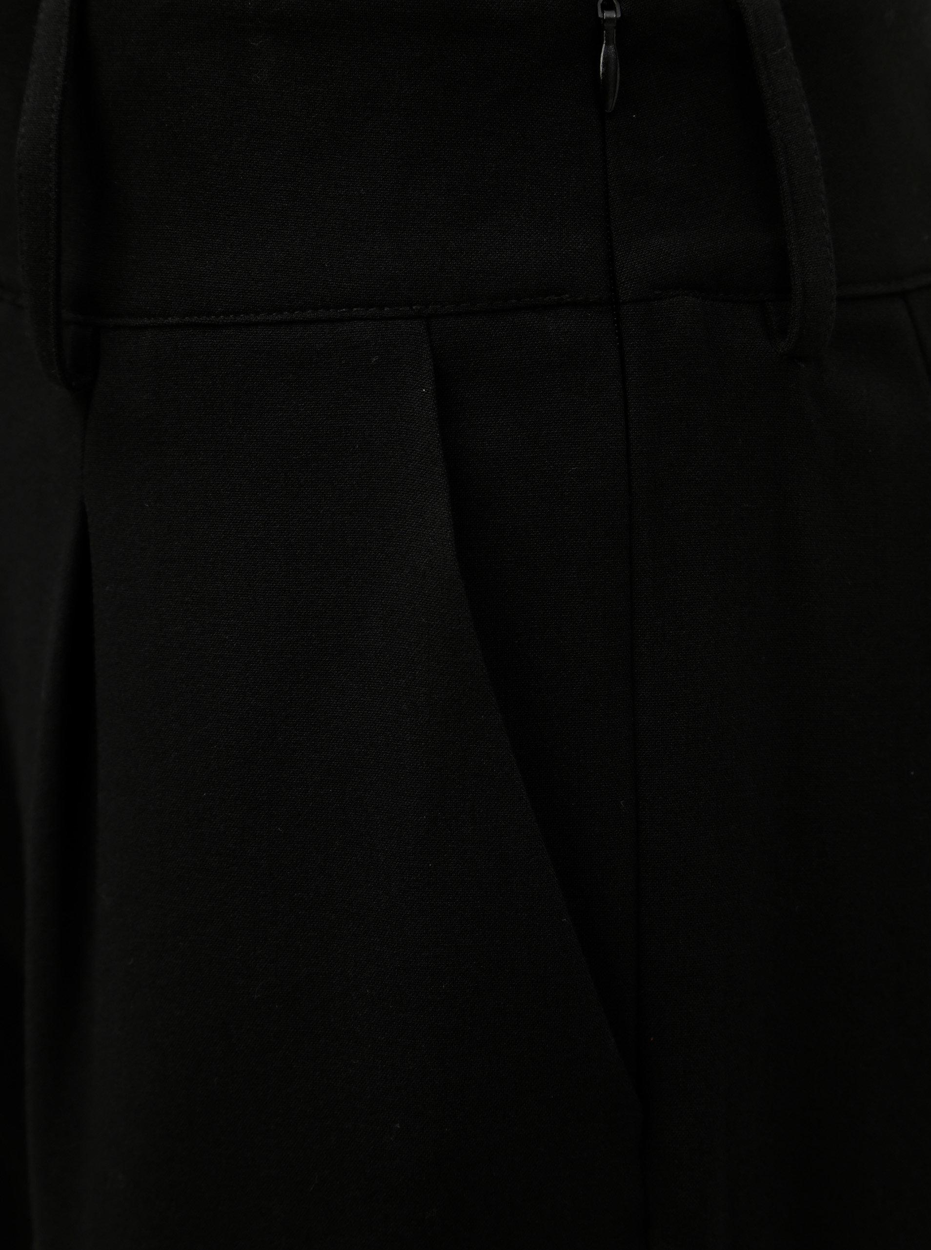 Černé kalhoty s vysokým pasem Jacqueline de Yong Felix ... ff085090f1