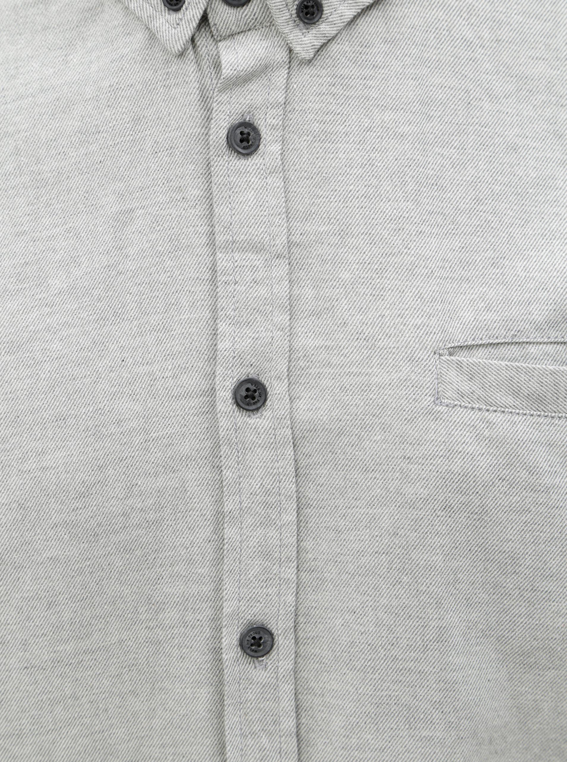 0f4b463d01e Šedá slim košile Blend ...
