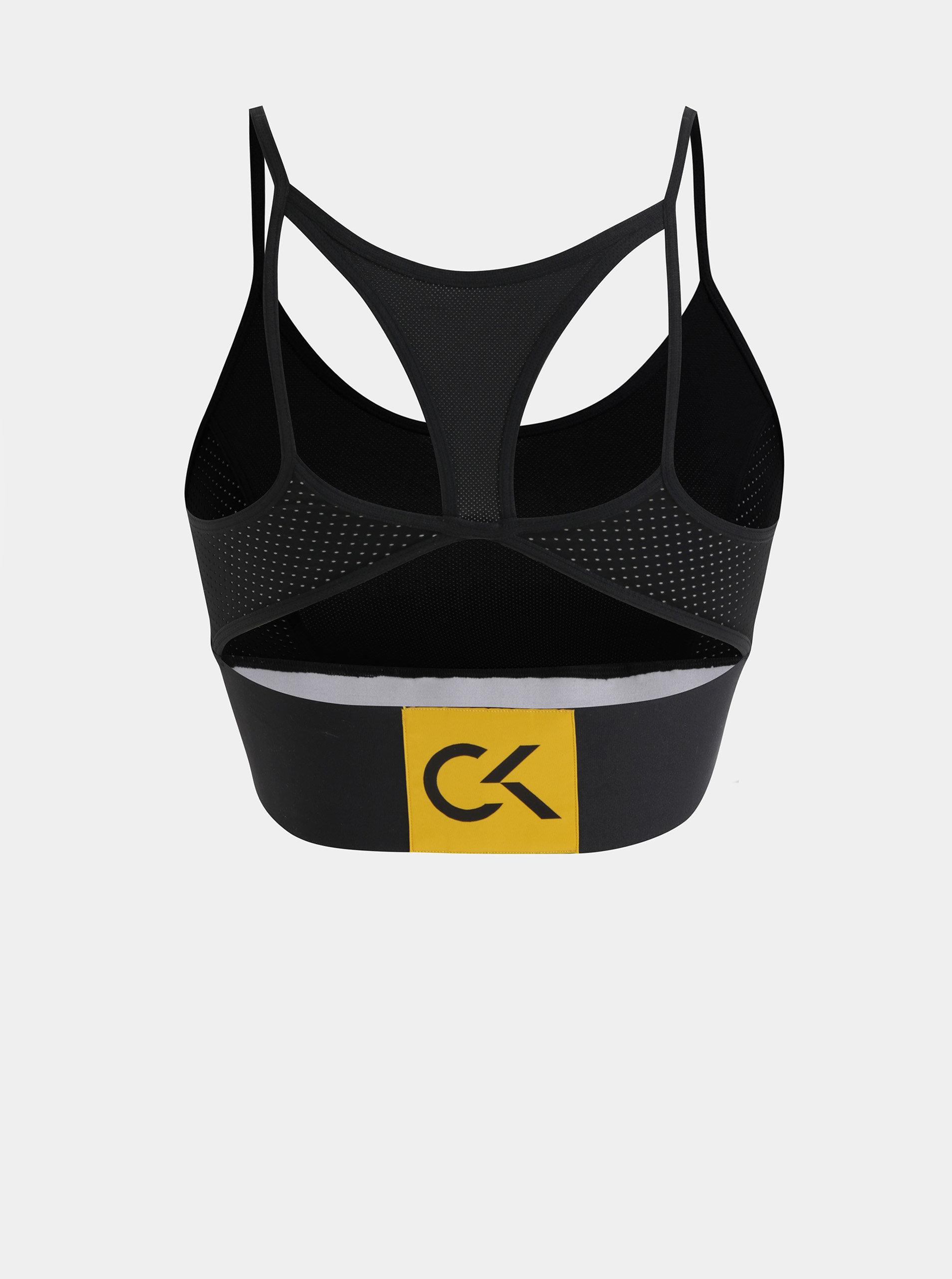 0485c7cd34 Černá sportovní podprsenka Calvin Klein Underwear ...